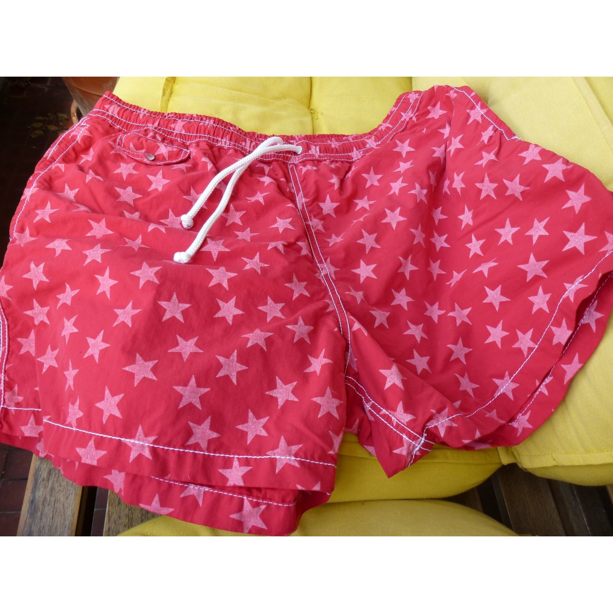 Short de bain HARTFORD Rouge, bordeaux