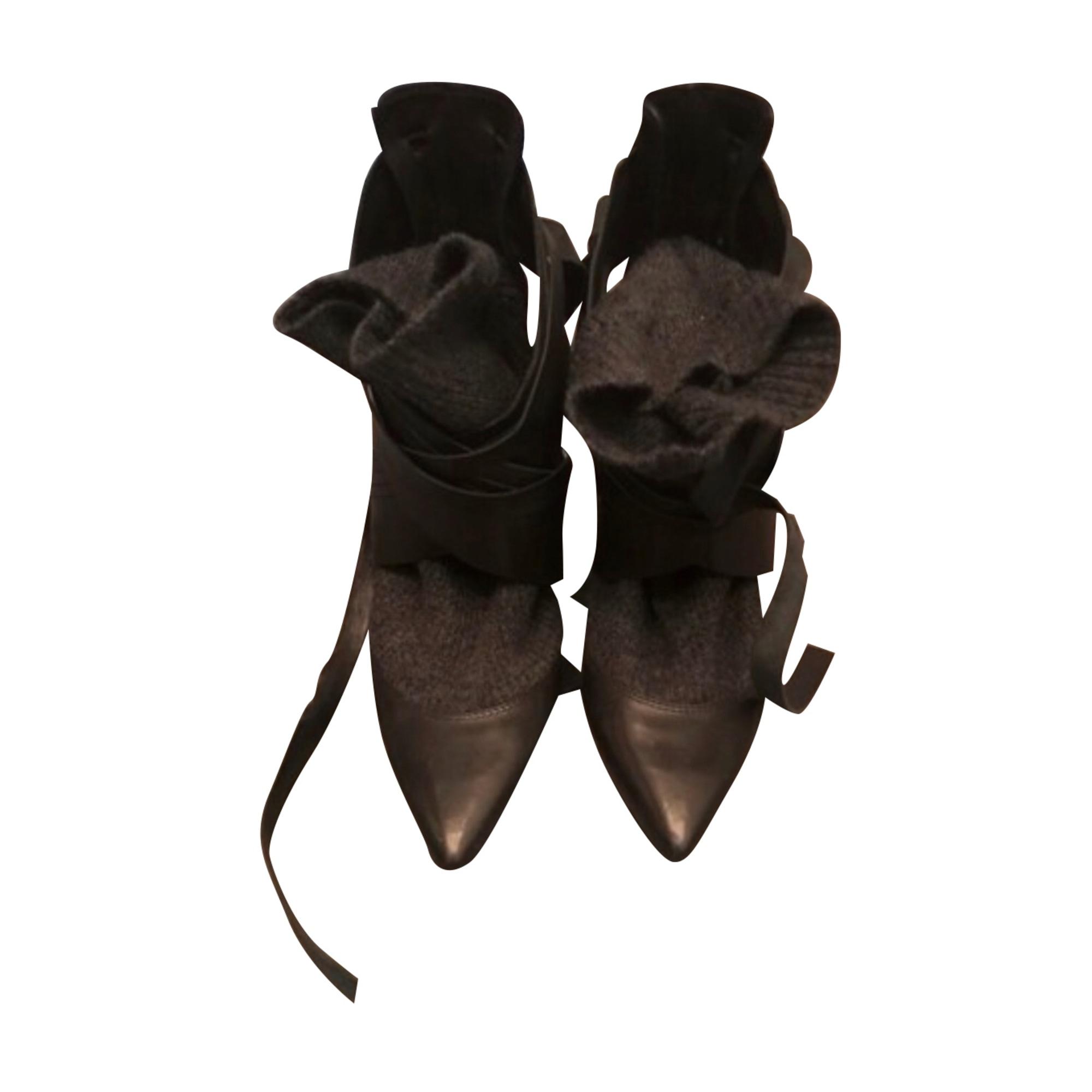 High Heel Ankle Boots IRO Black