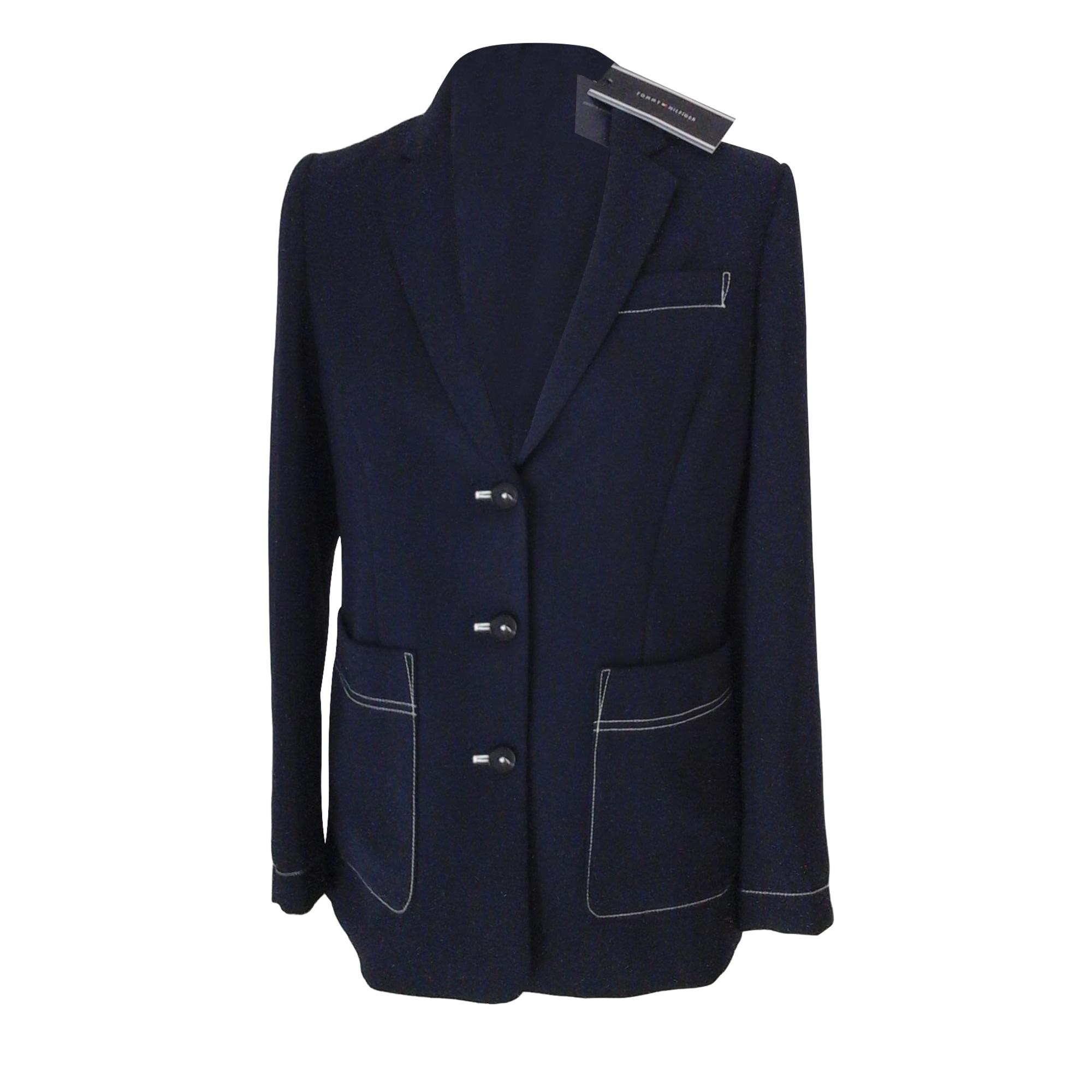 Blazer, veste tailleur TOMMY HILFIGER Bleu, bleu marine, bleu turquoise
