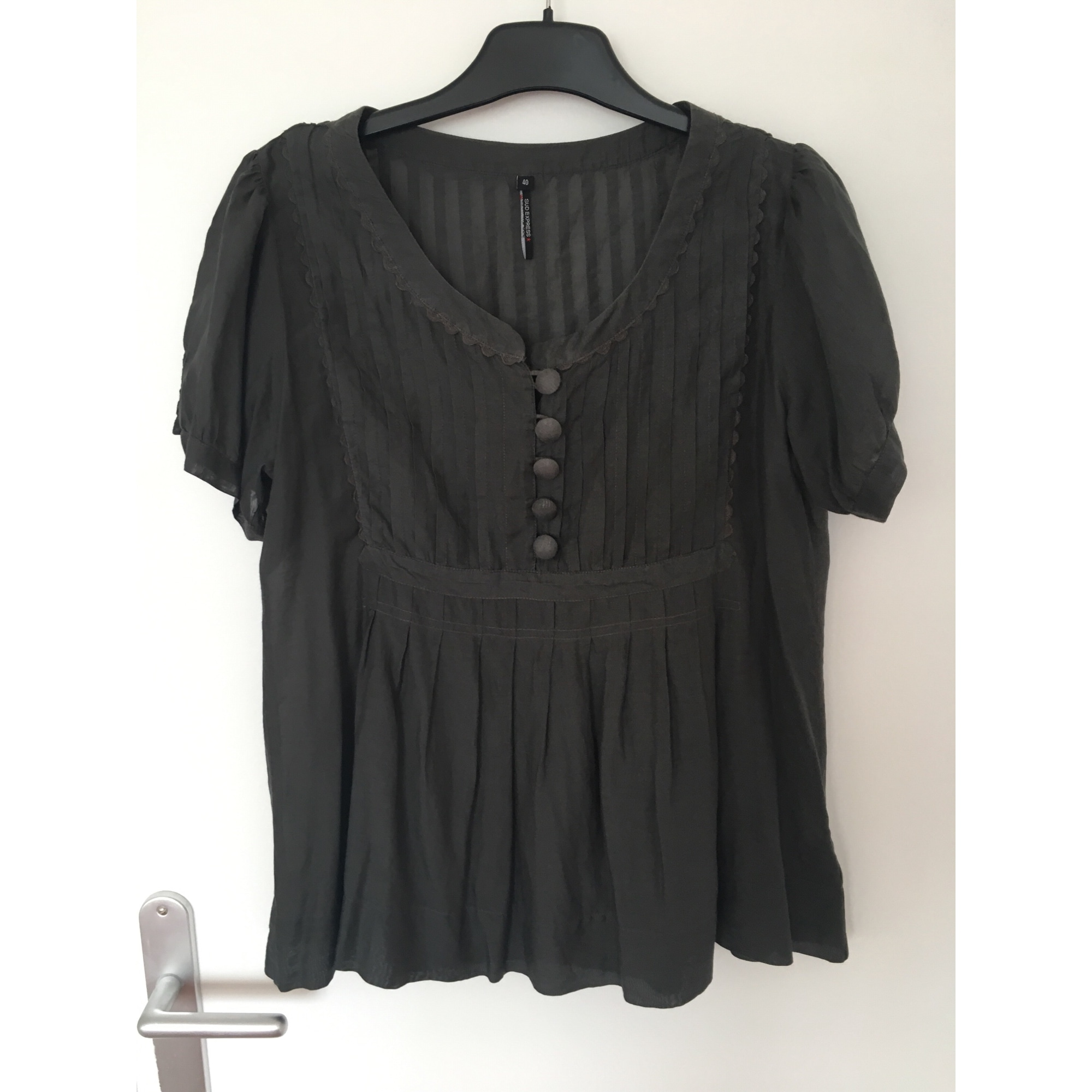 Blouse SUD EXPRESS Gris, anthracite