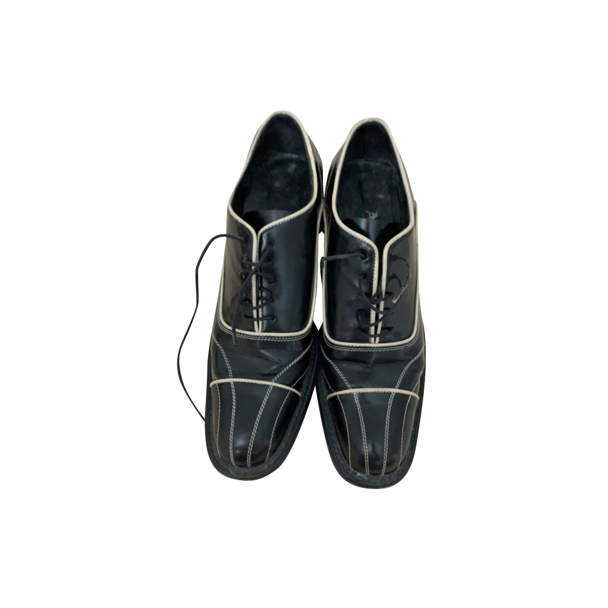 Chaussures à lacets  PRADA Noir