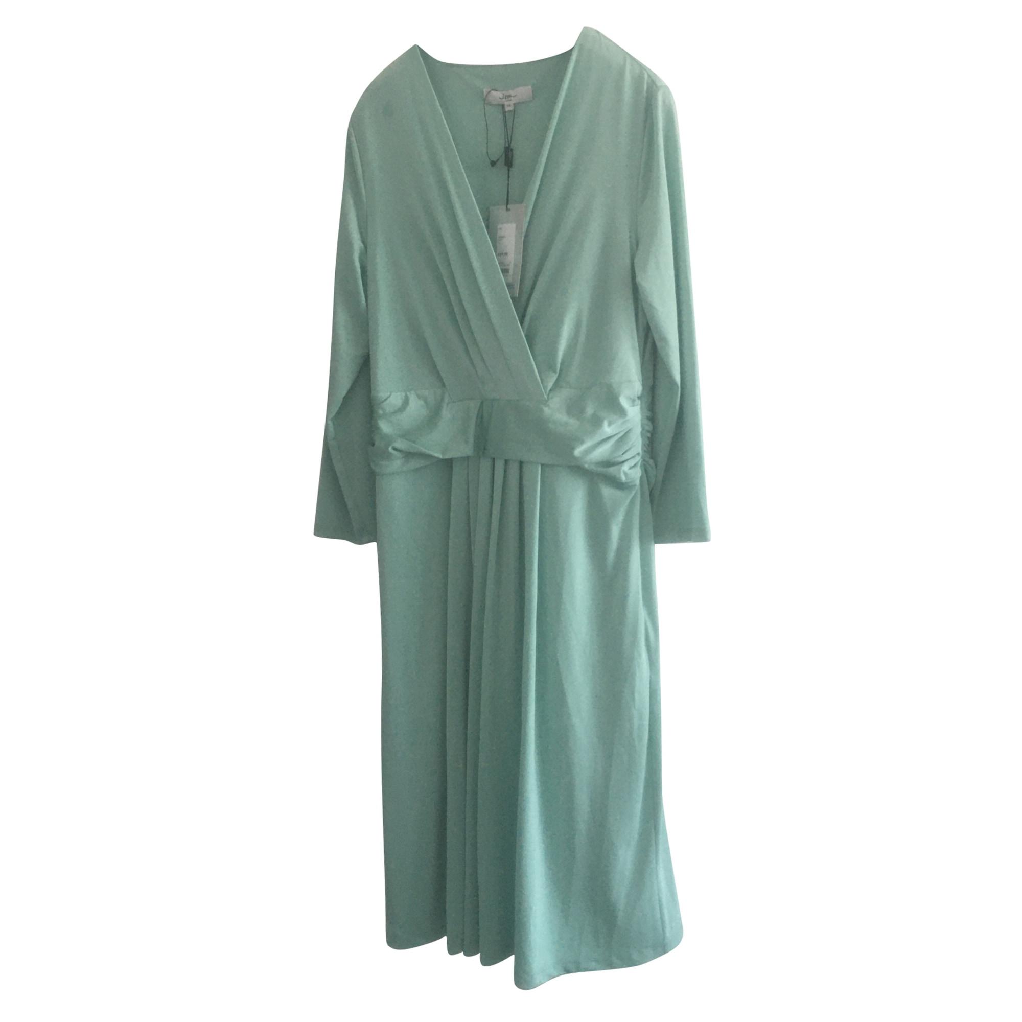 Robe mi-longue ISSA Vert