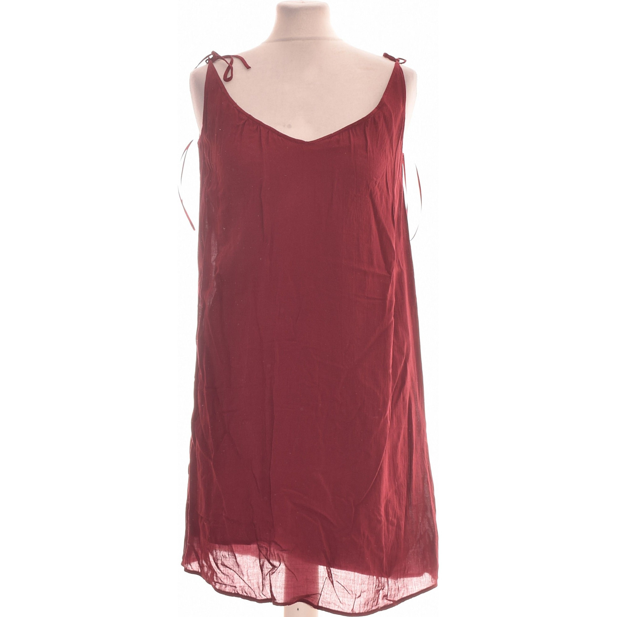 Robe courte NAF NAF Violet, mauve, lavande