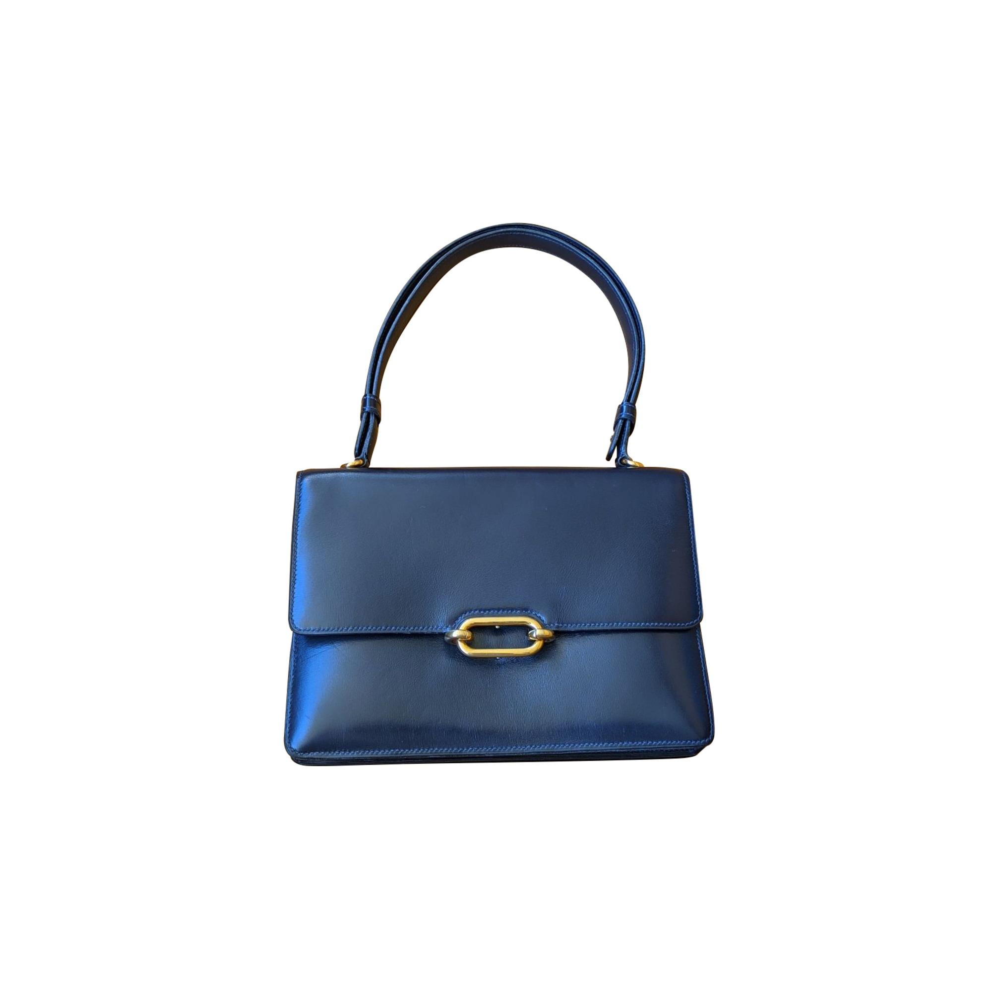 Lederhandtasche HERMÈS Blau, marineblau, türkisblau