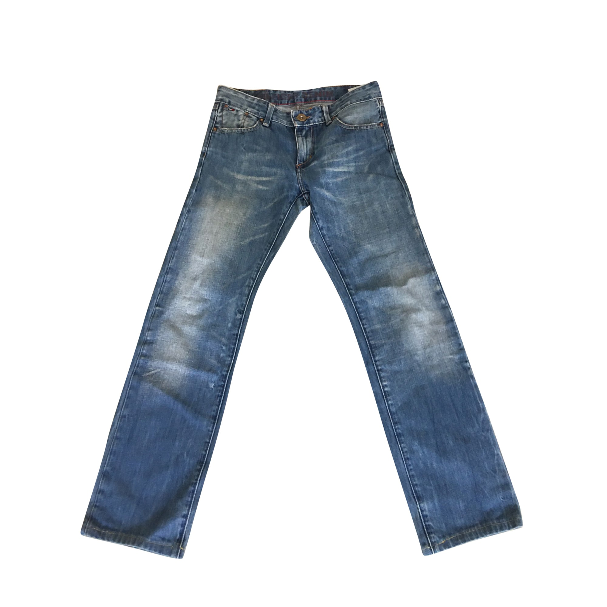Straight Leg Jeans TOMMY HILFIGER Blue, navy, turquoise