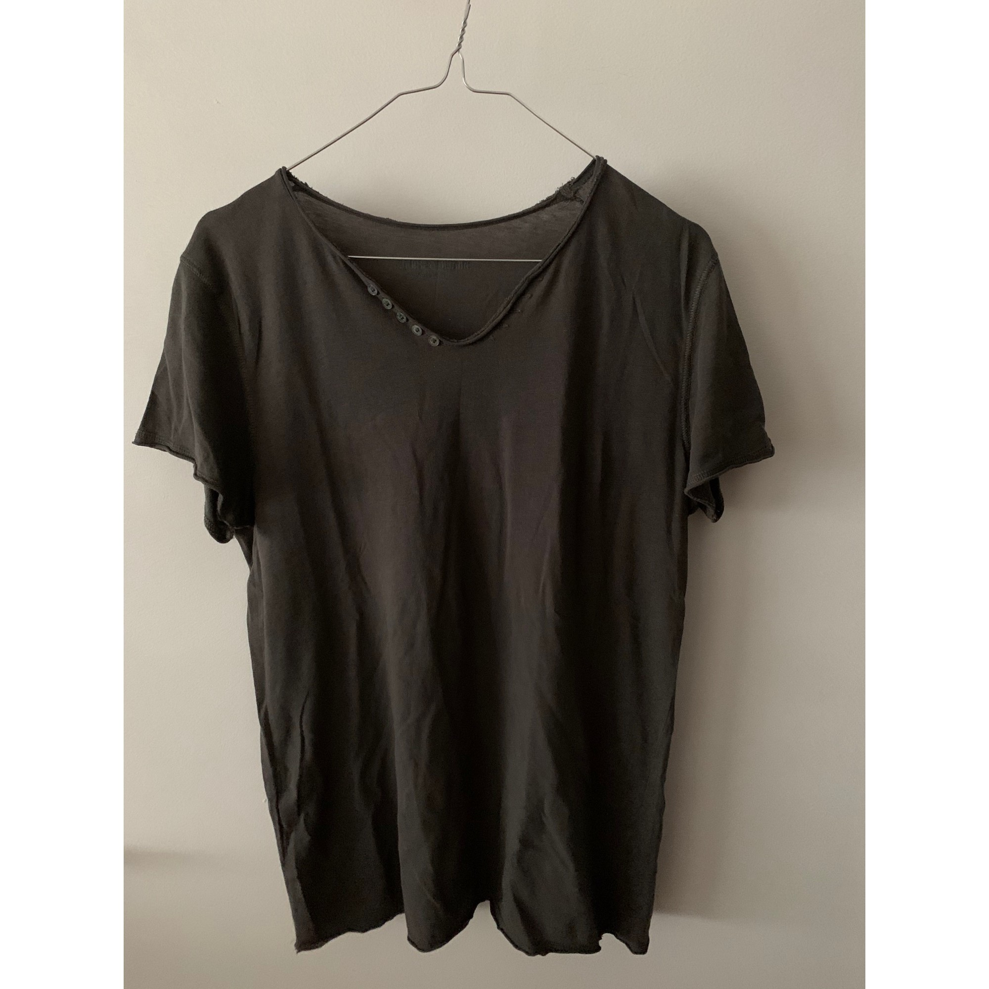 Tee-shirt ZADIG & VOLTAIRE Gris, anthracite