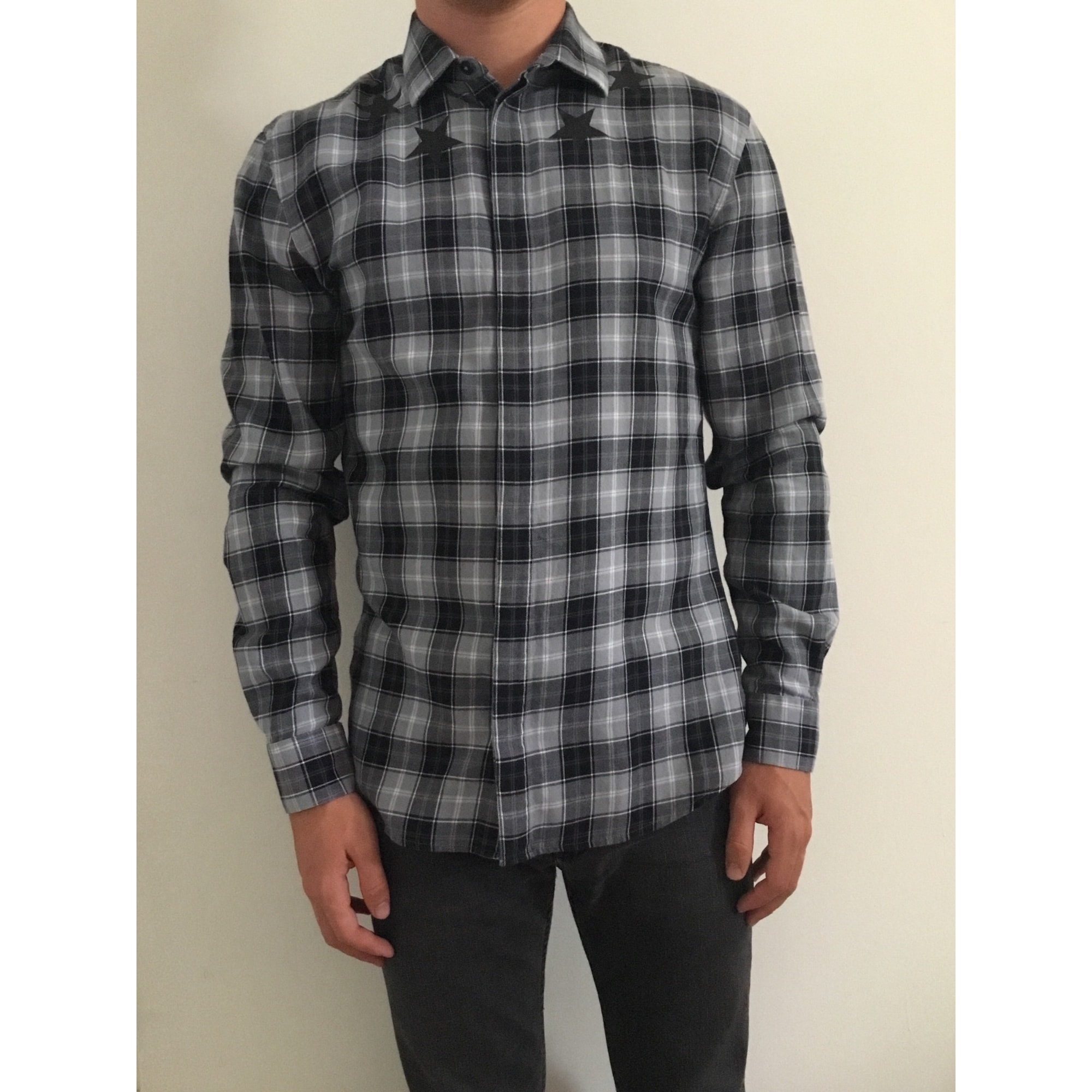 Chemise GIVENCHY Gris, anthracite