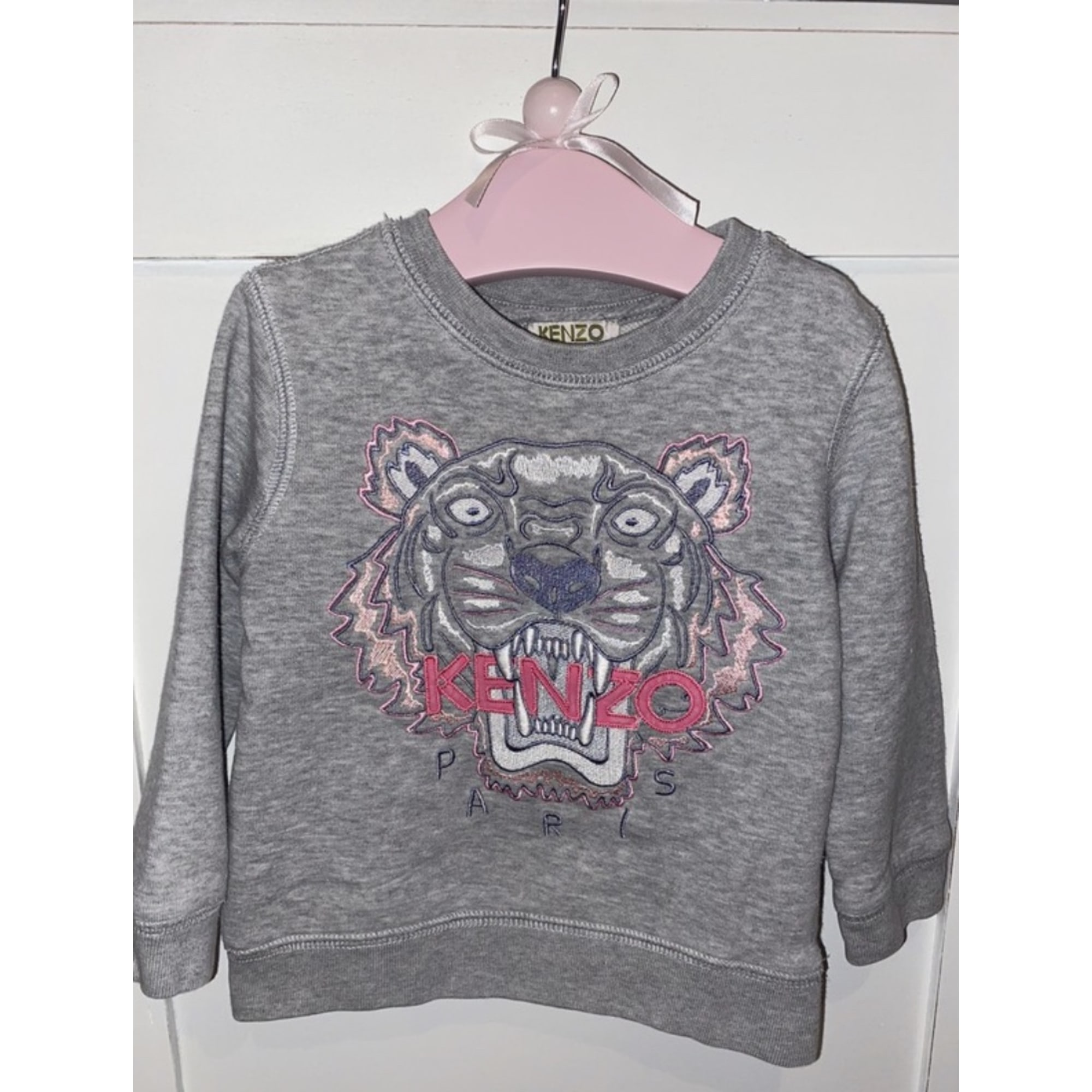 Pull KENZO Gris, anthracite