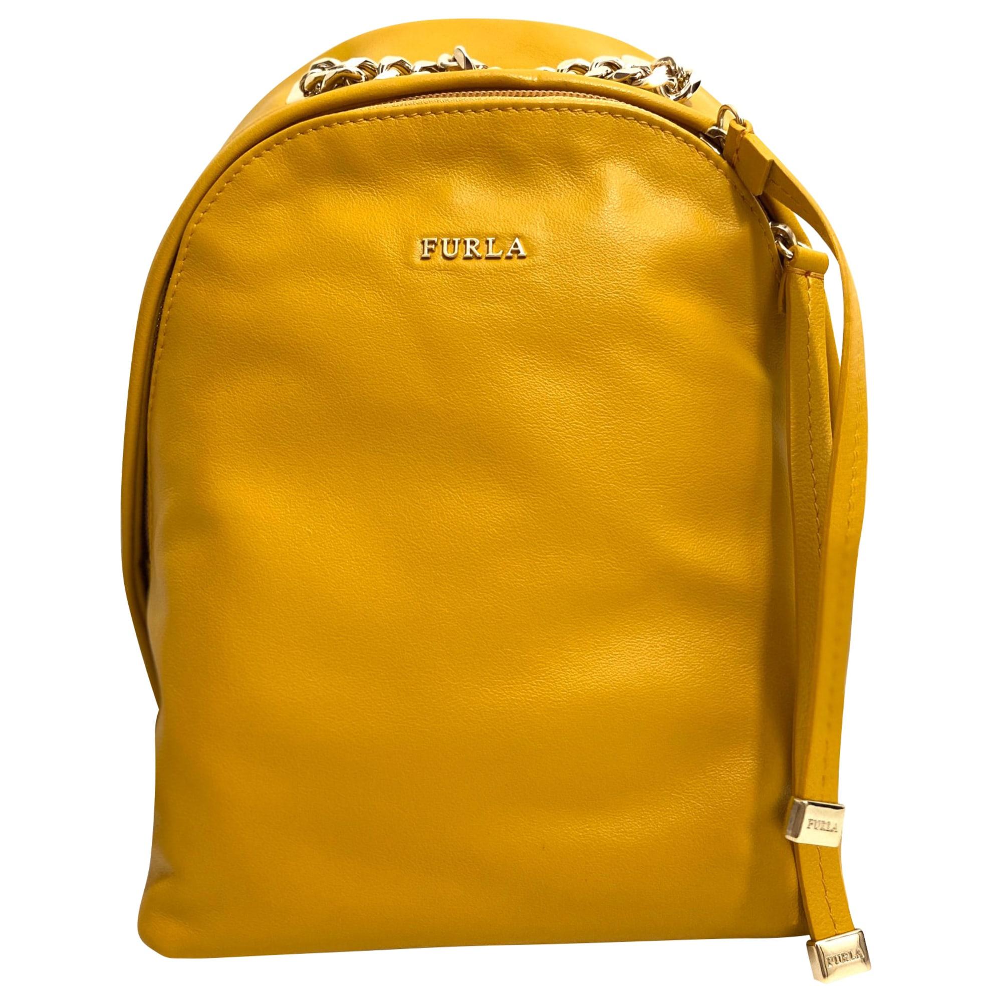 Backpack FURLA Ocre