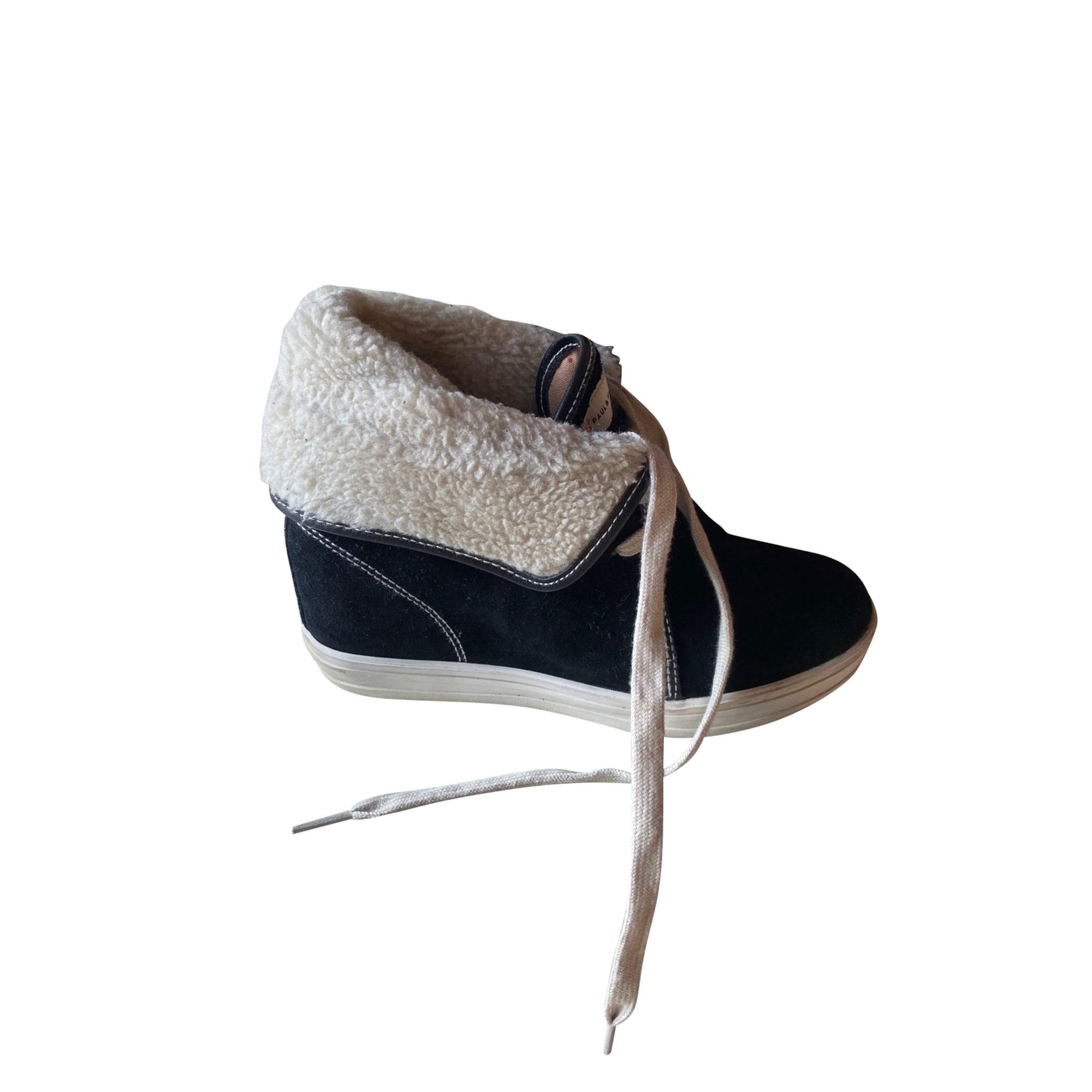 Bottines & low boots à compensés PAUL & JOE SISTER Noir