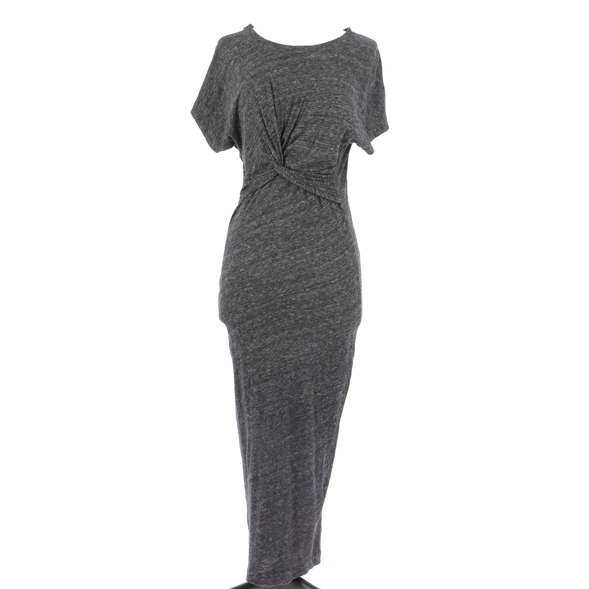 Midi Dress IRO Gray, charcoal