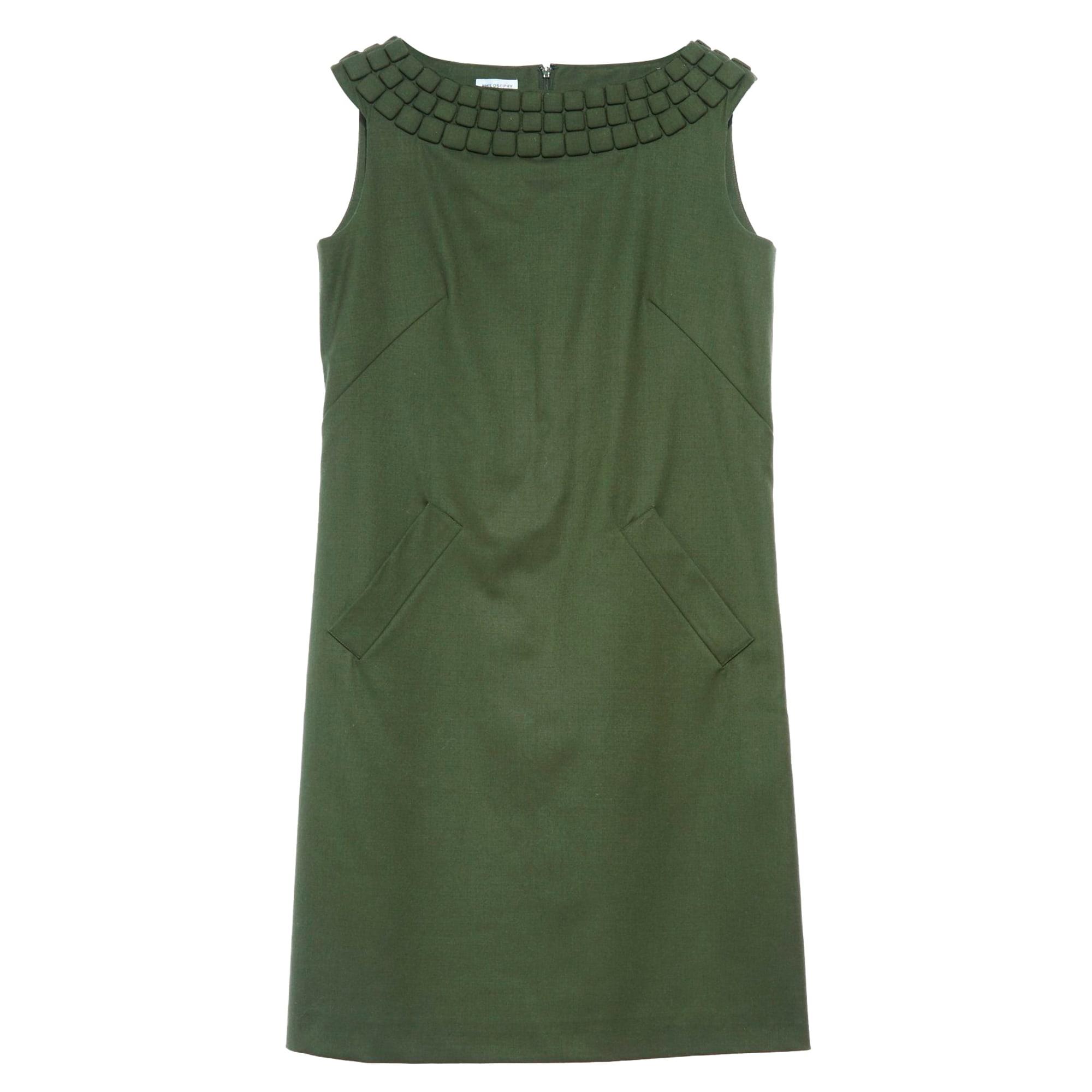 Robe mi-longue PHILOSOPHY DI ALBERTA FERRETTI Vert