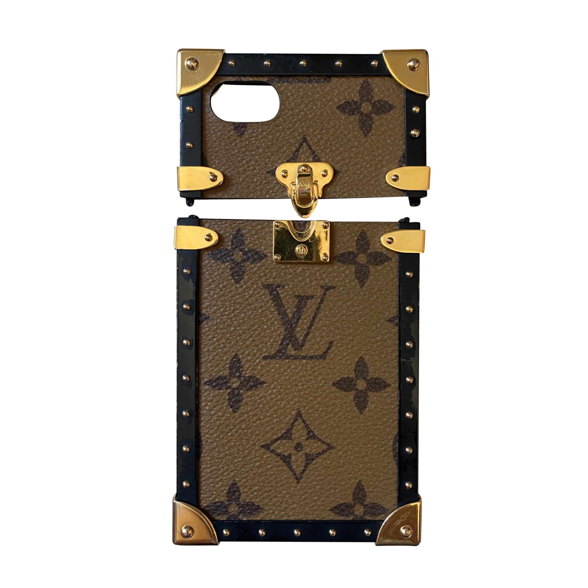 Etui iPhone  LOUIS VUITTON Beige, camel