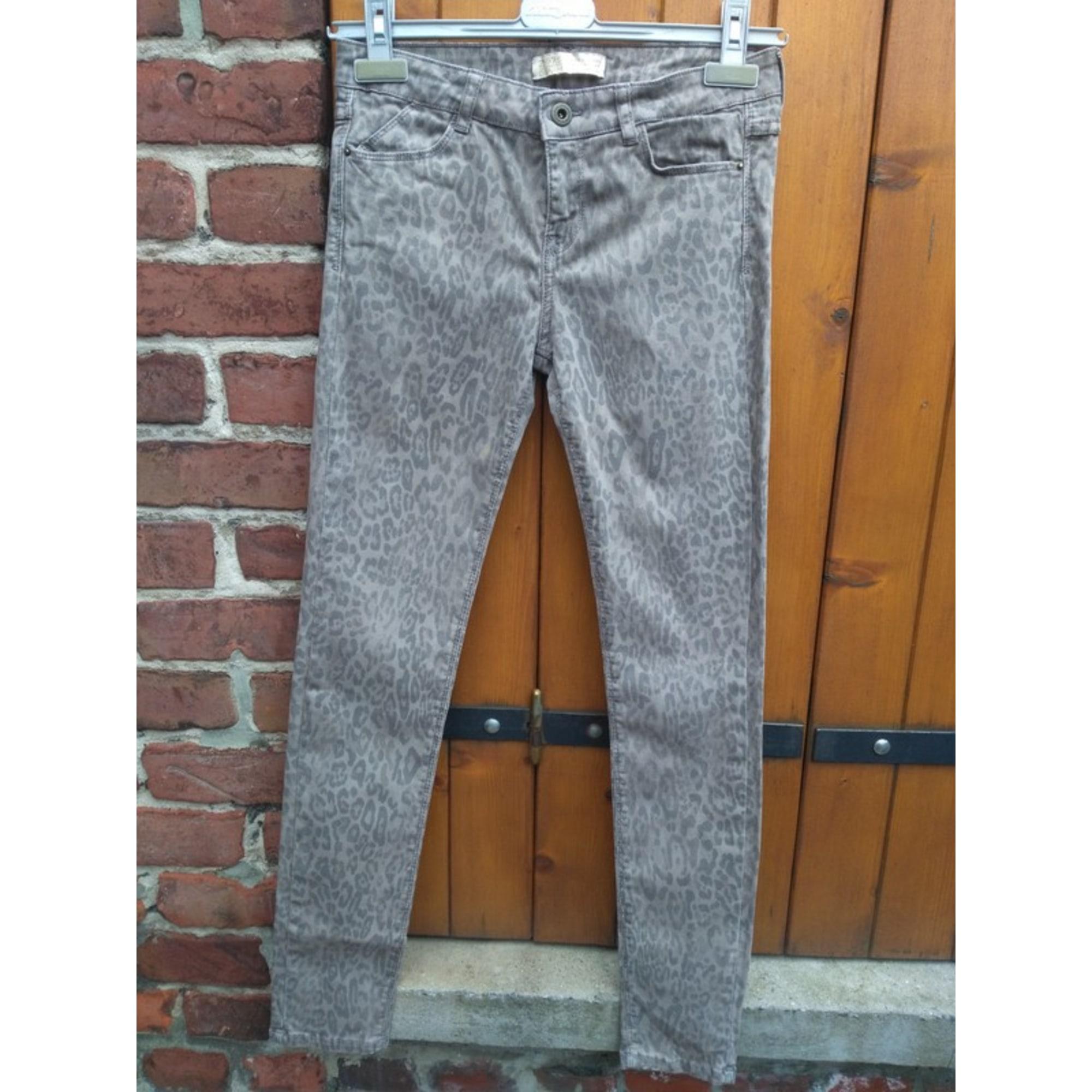 Jeans slim ZARA Multicouleur