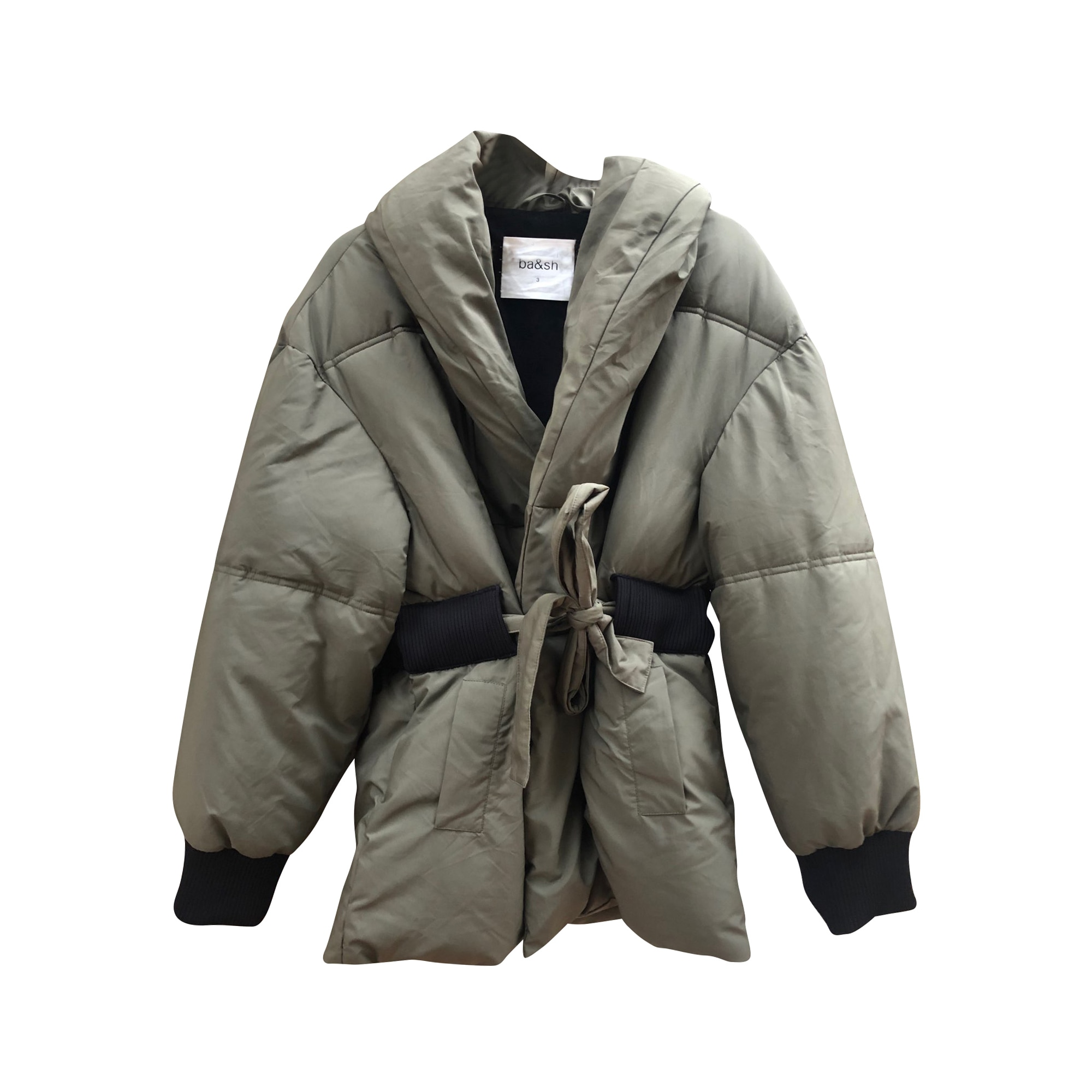 Down Jacket BA&SH Khaki