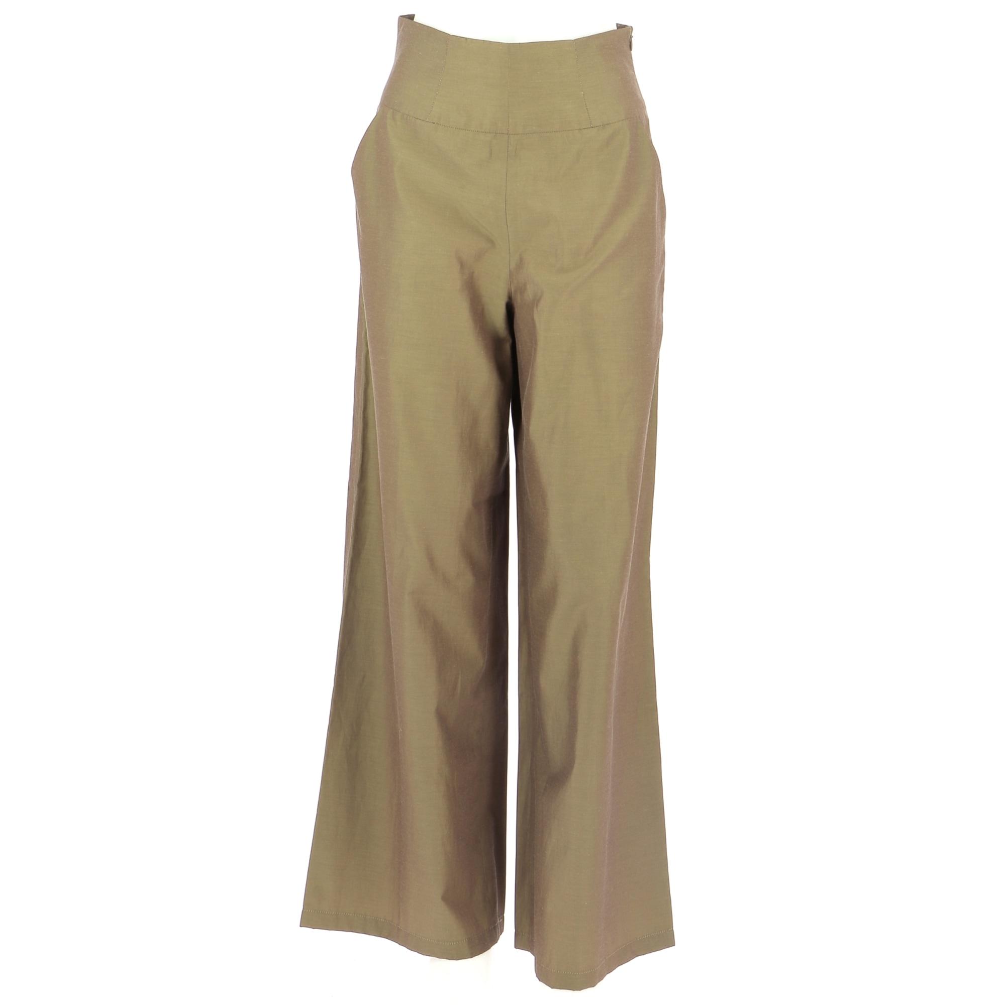 Pantalon droit ZAPA Vert