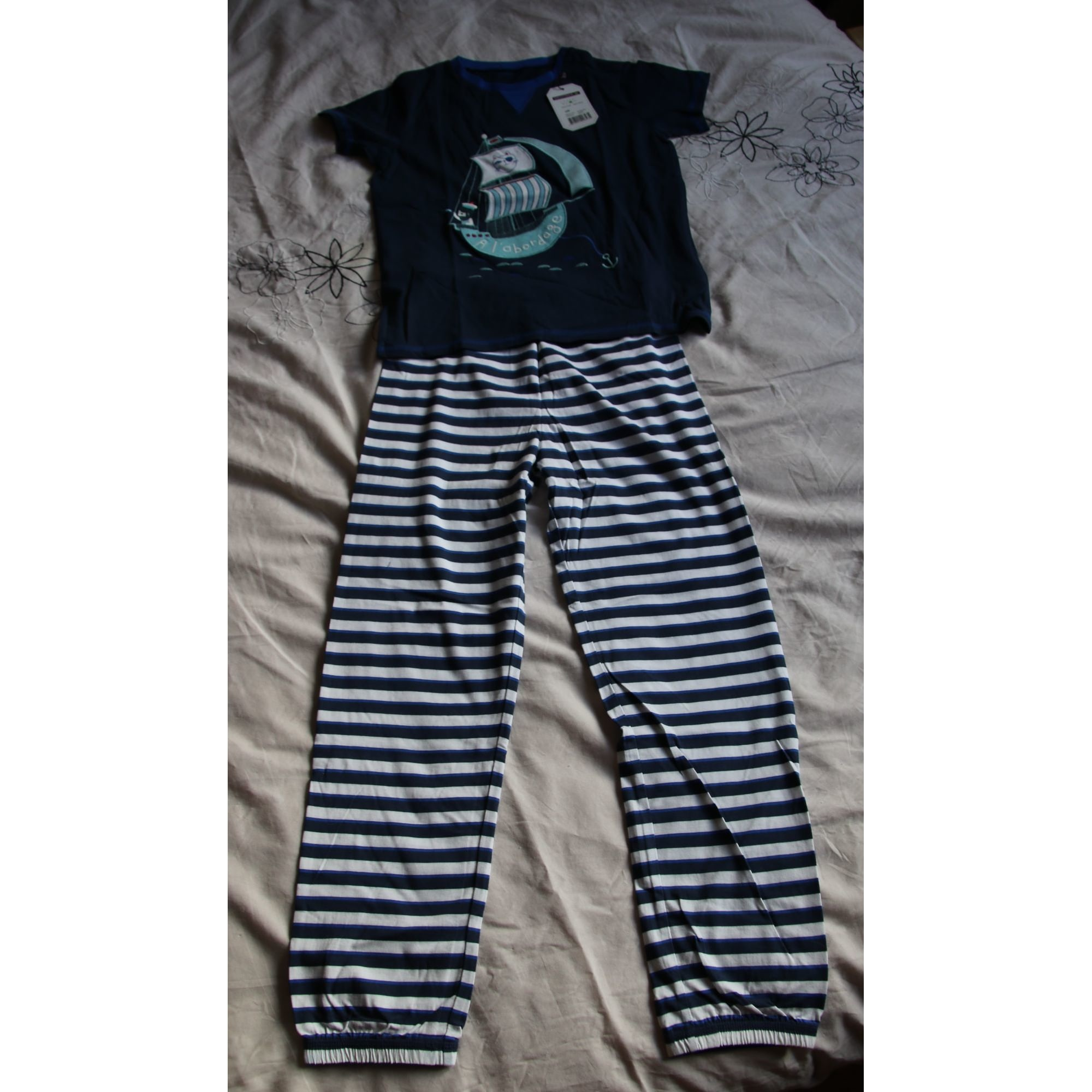 Pyjama SERGENT MAJOR Bleu, bleu marine, bleu turquoise