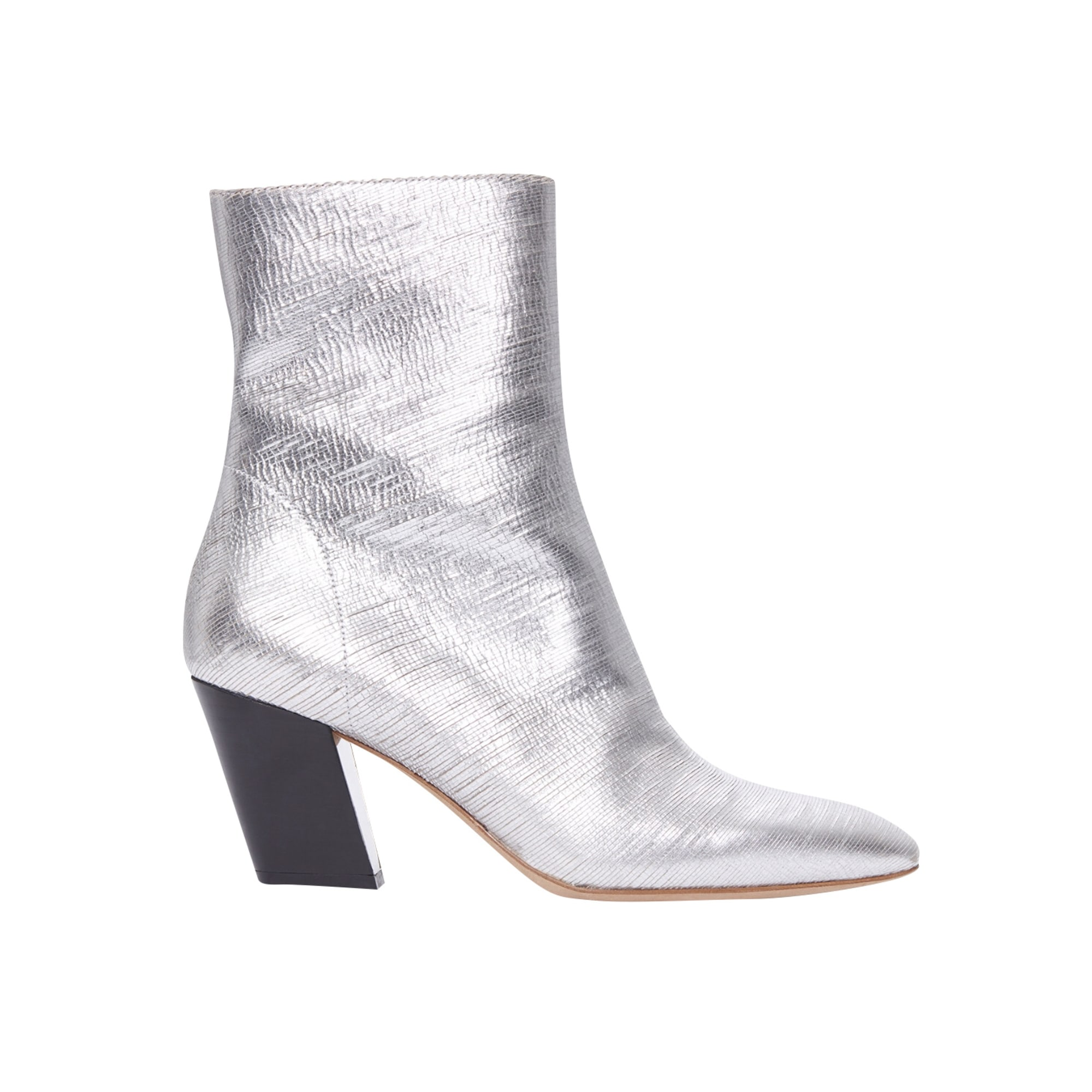 High Heel Ankle Boots IRO Silver