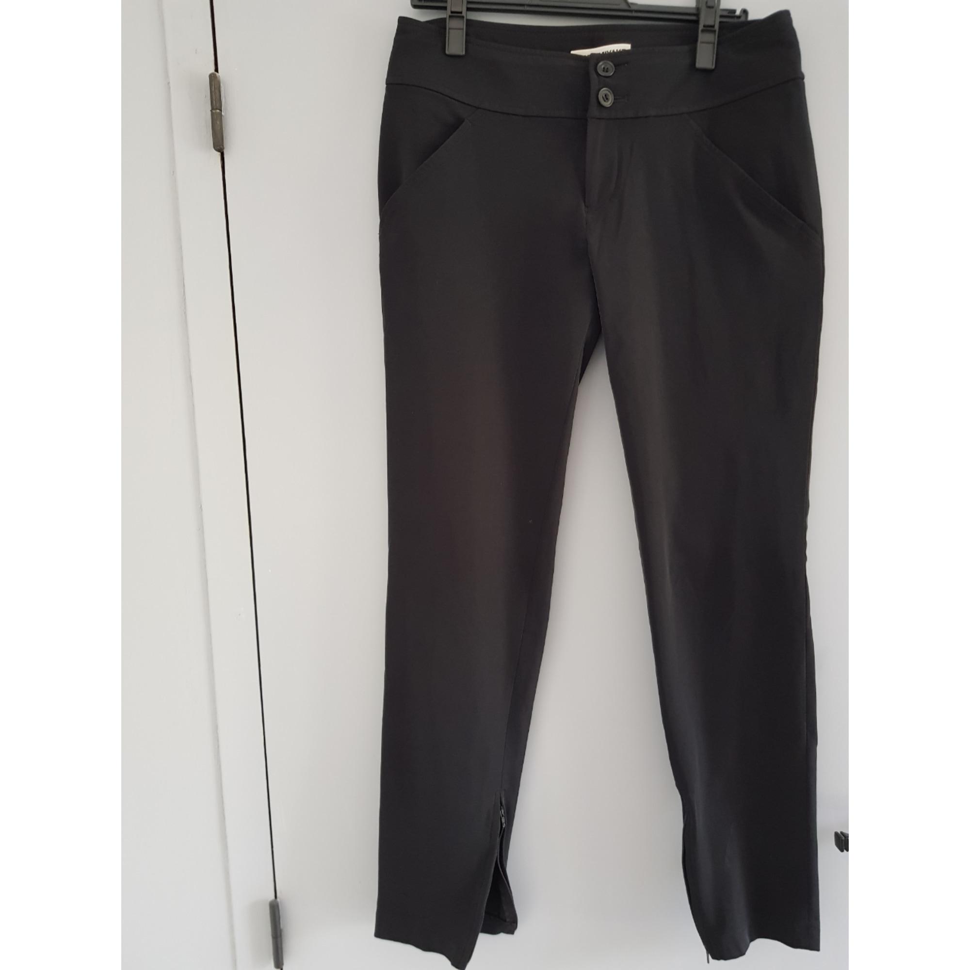 Pantalon carotte ISSEY MIYAKE Noir
