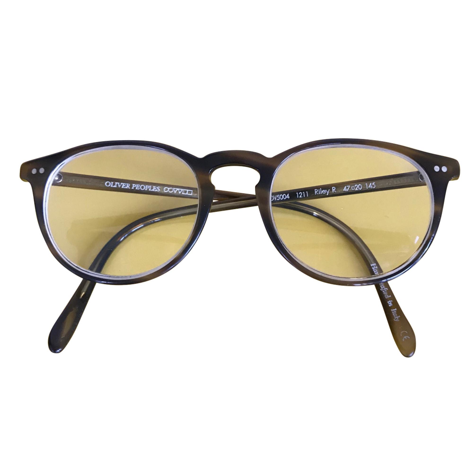 Monture de lunettes OLIVER PEOPLES Marron