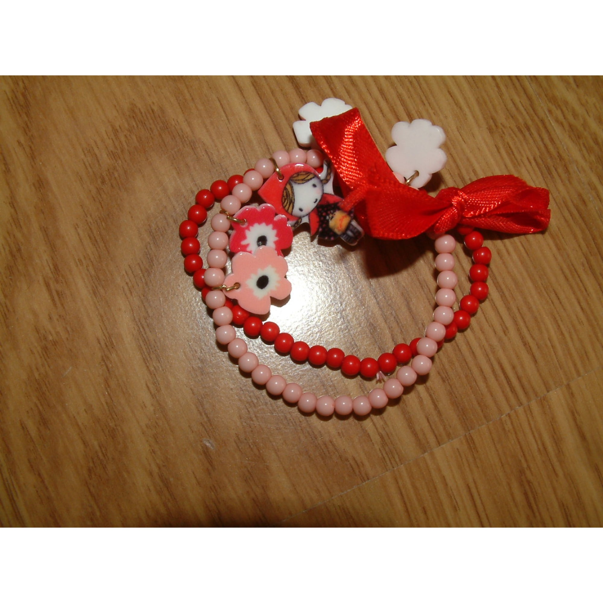 Bracelet SERGENT MAJOR Pink, fuchsia, light pink