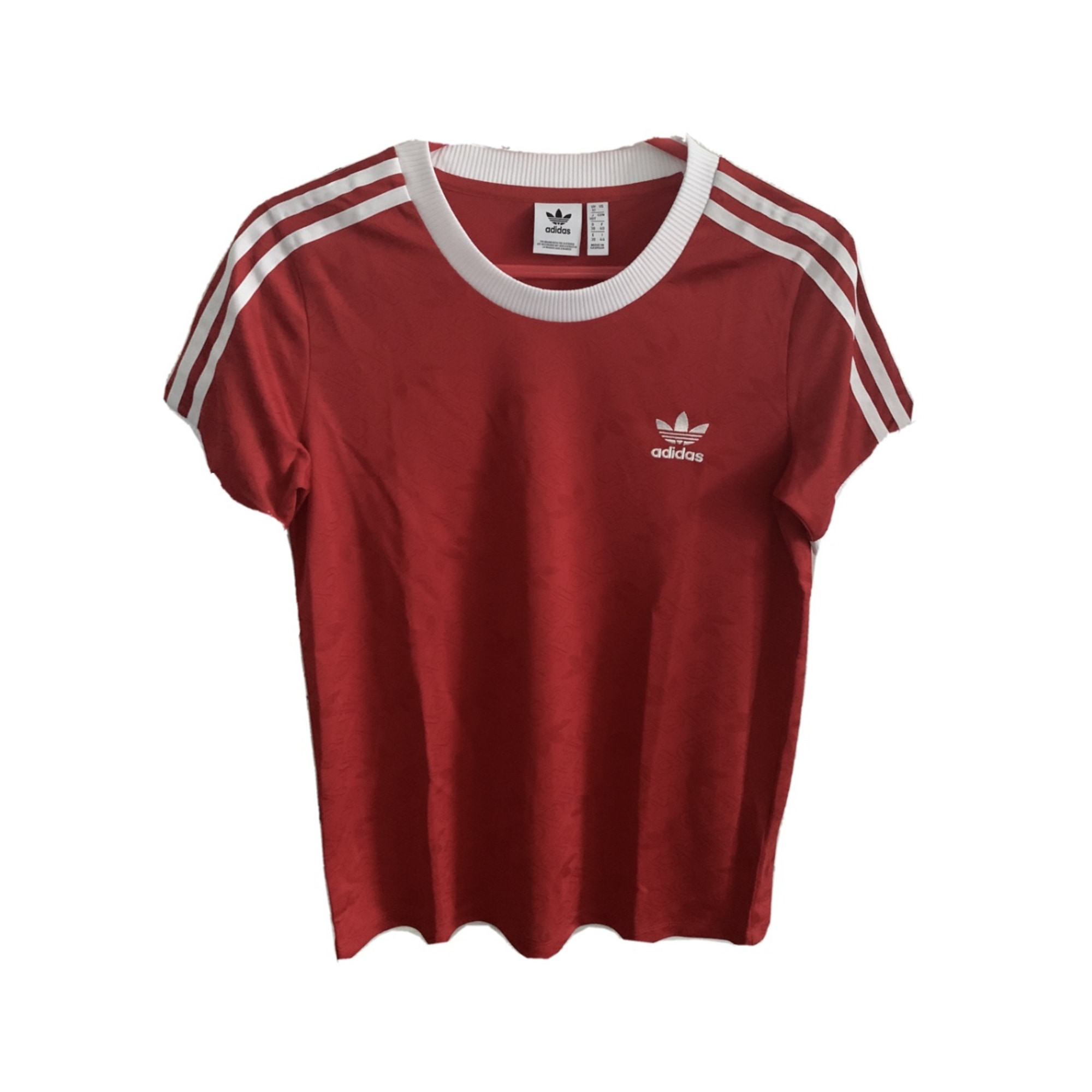 Top, tee-shirt ADIDAS Rouge, bordeaux