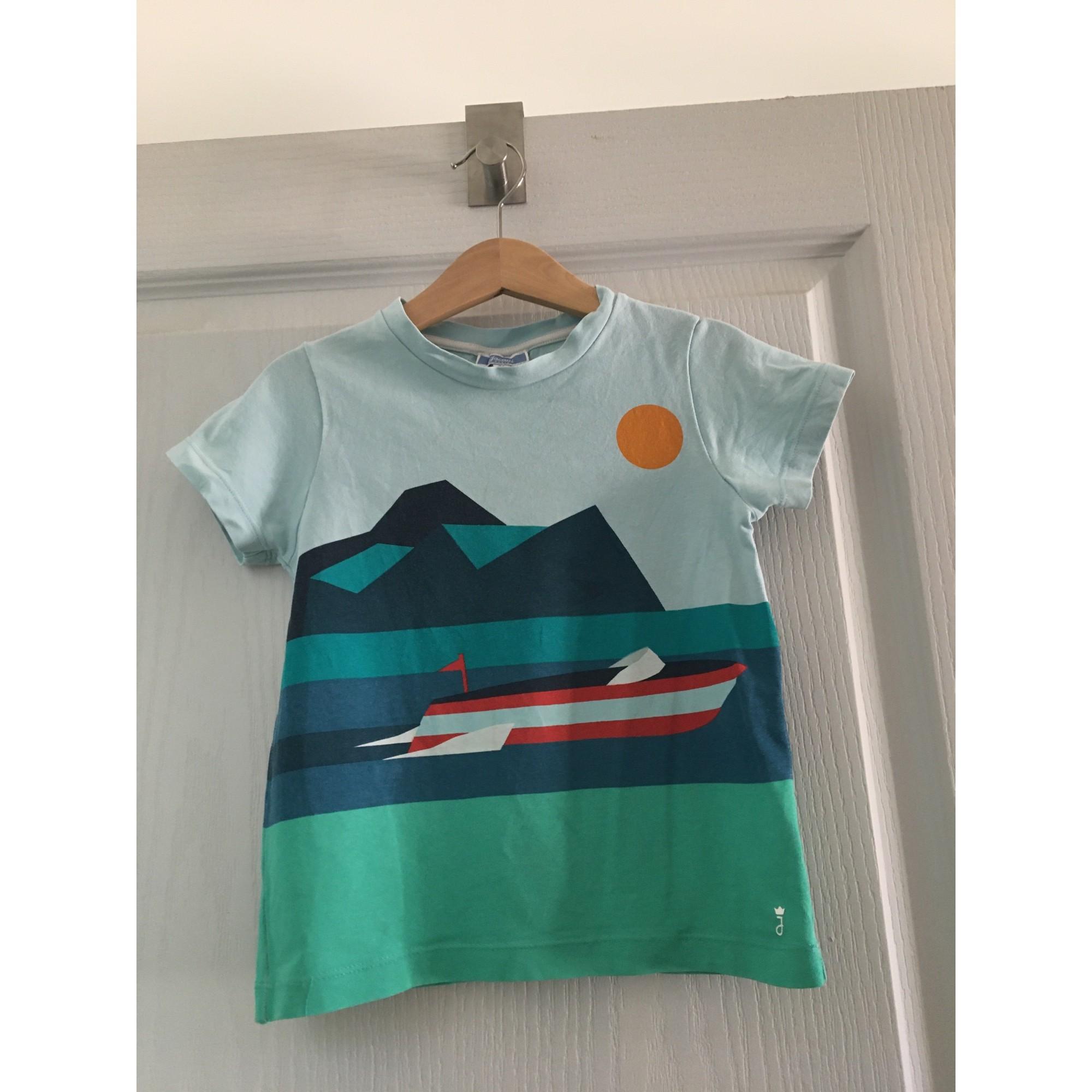 Tee-shirt JACADI Bleu, bleu marine, bleu turquoise