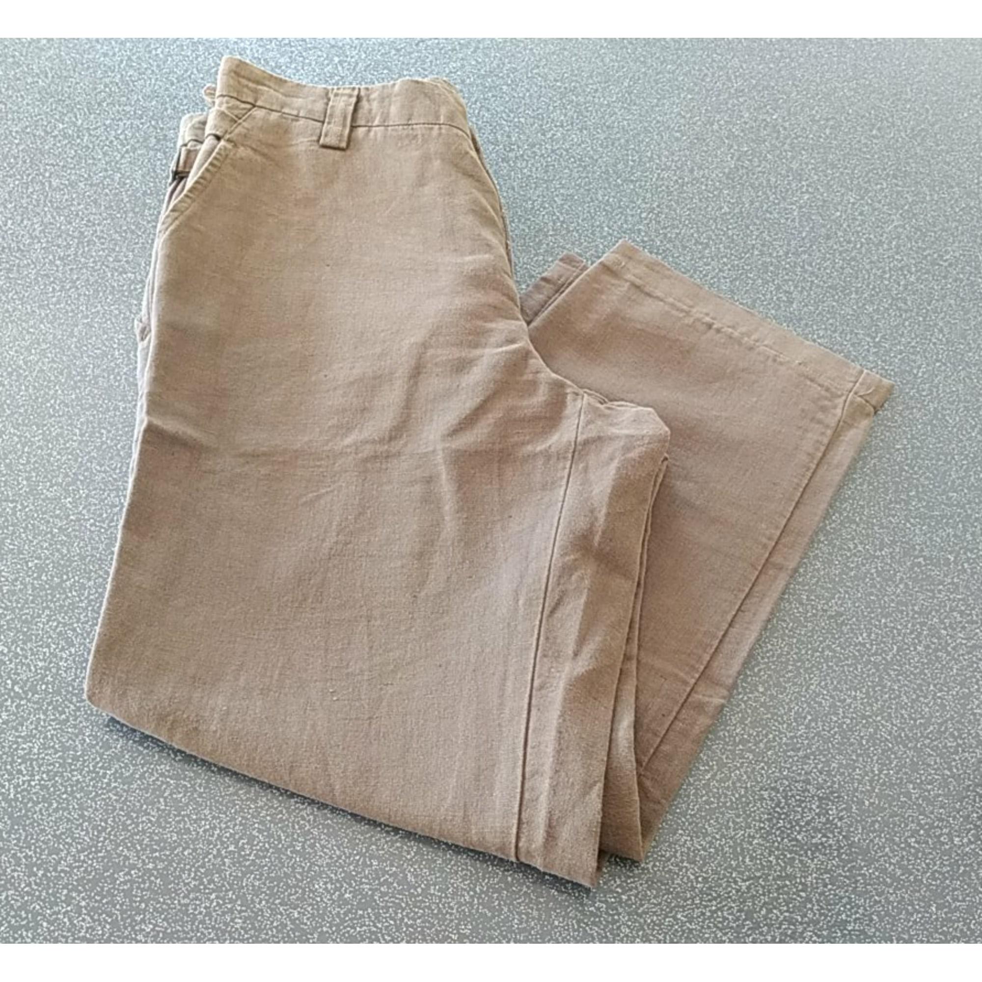 Pantalon large EDEN PARK Kaki
