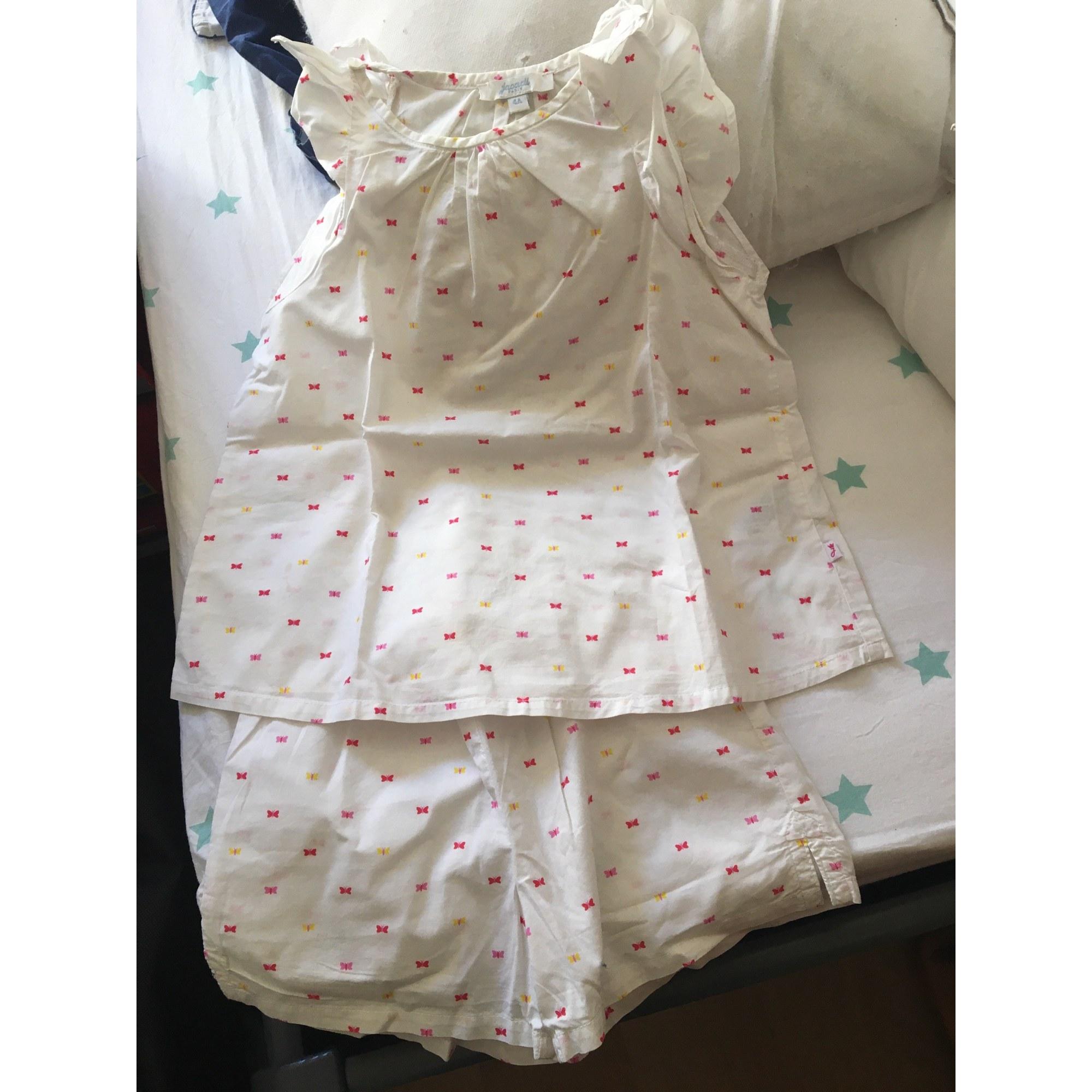 Pyjama JACADI Blanc, blanc cassé, écru