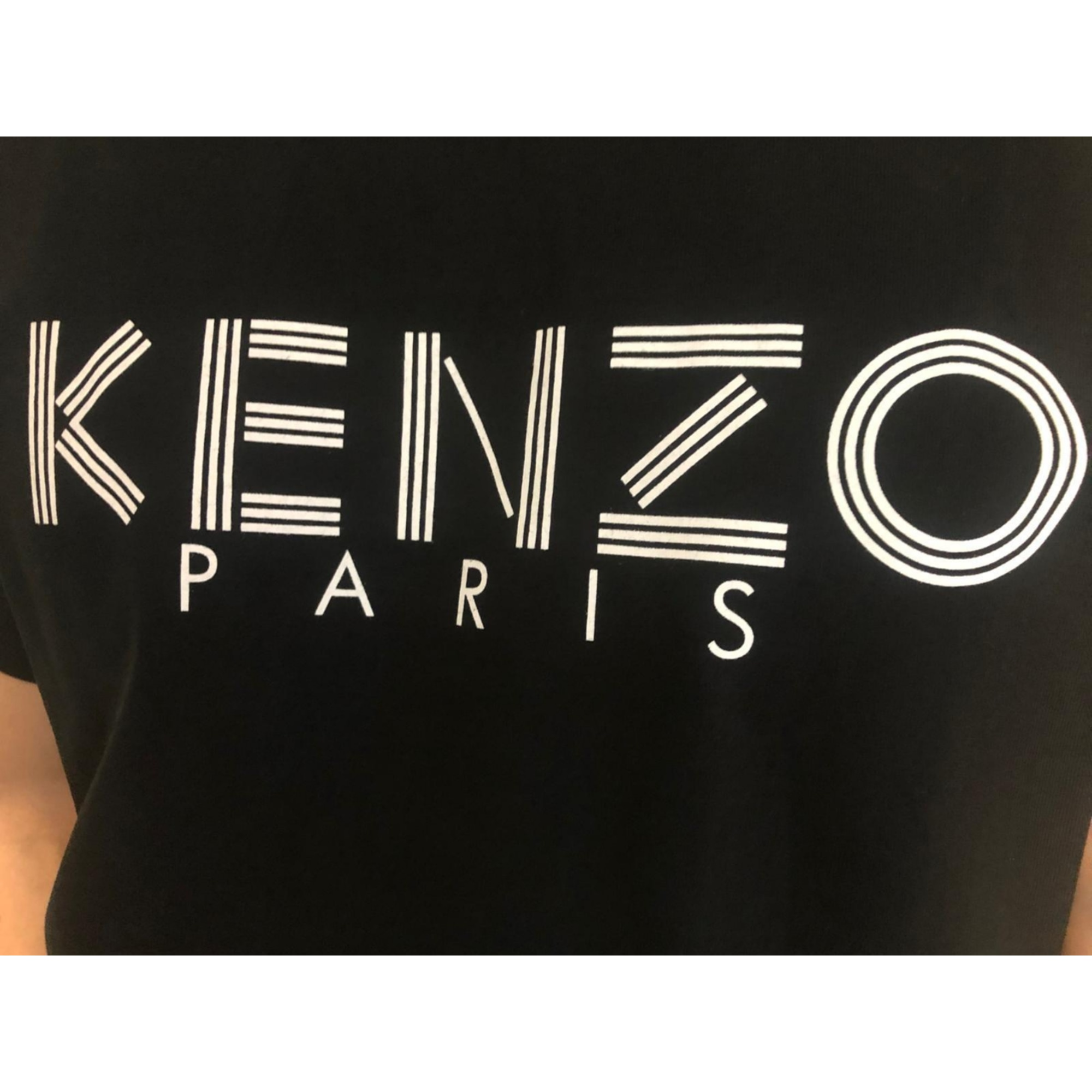 Tee-shirt KENZO Blanc, blanc cassé, écru