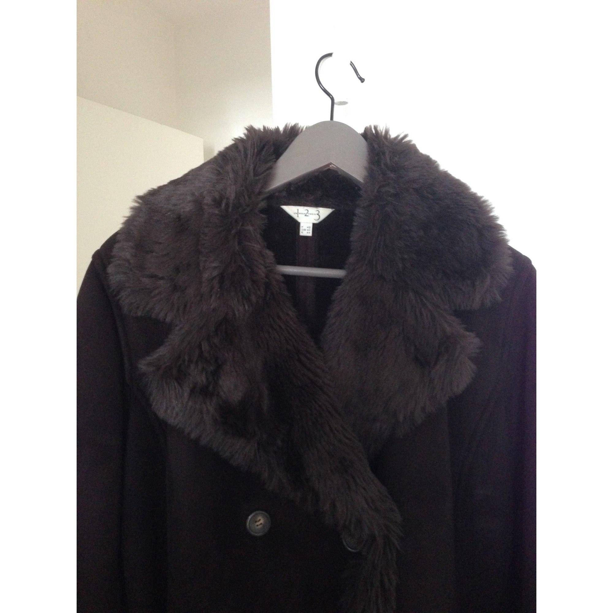 Manteau en fourrure 1.2.3 Marron