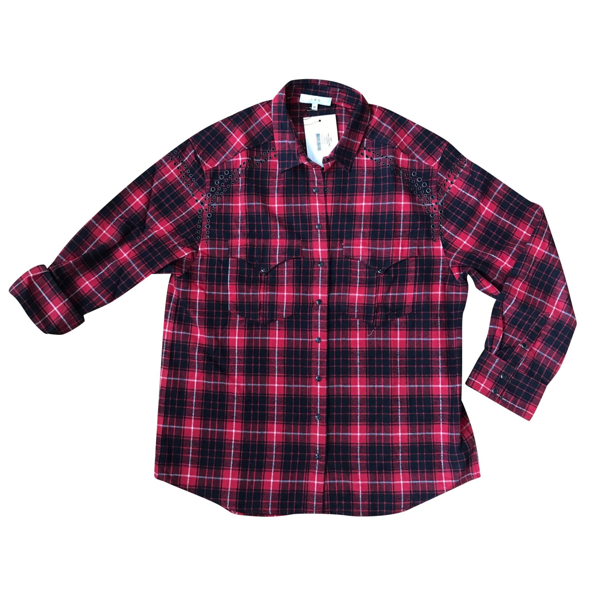 Shirt IRO Red, burgundy