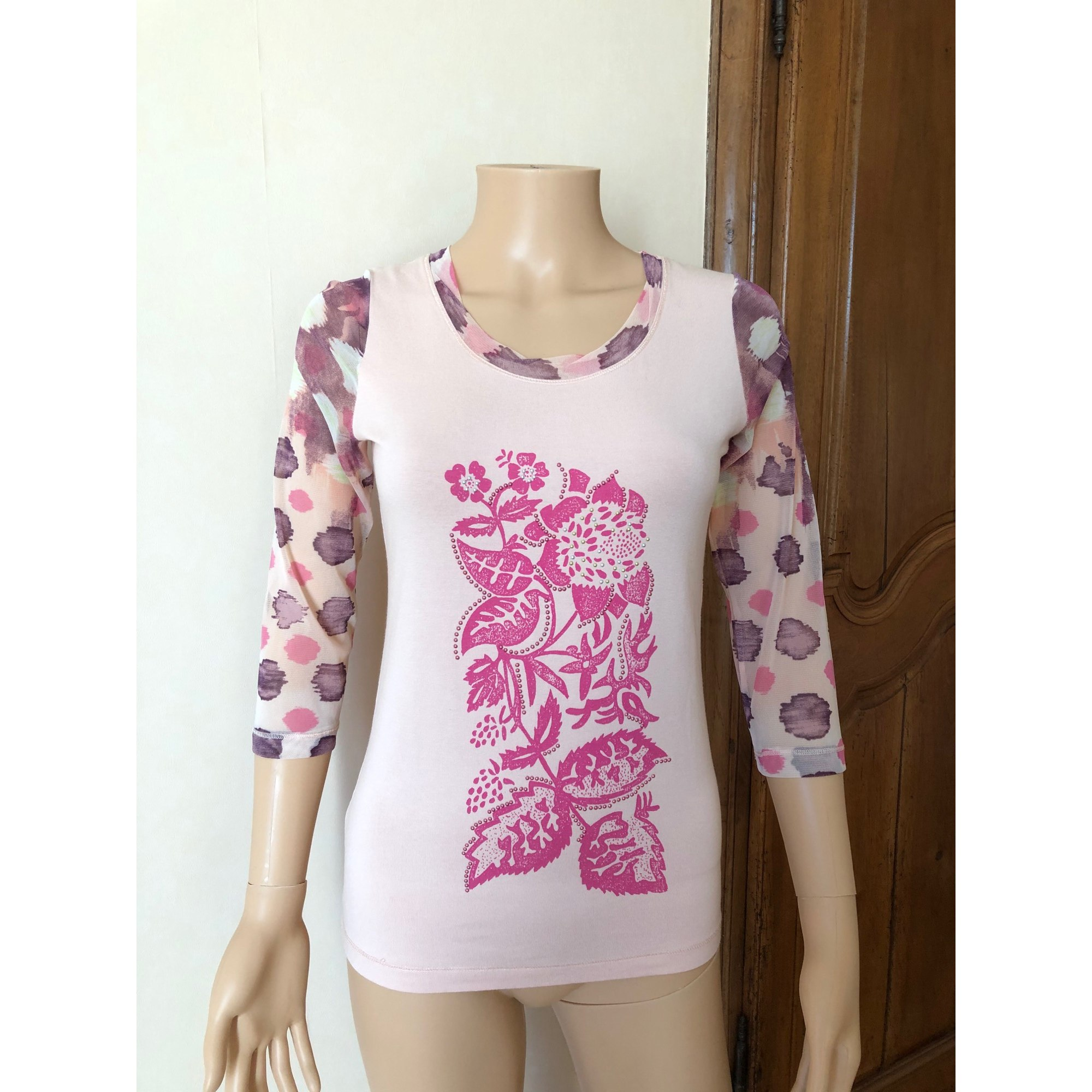Top, tee-shirt CHACOK Rose