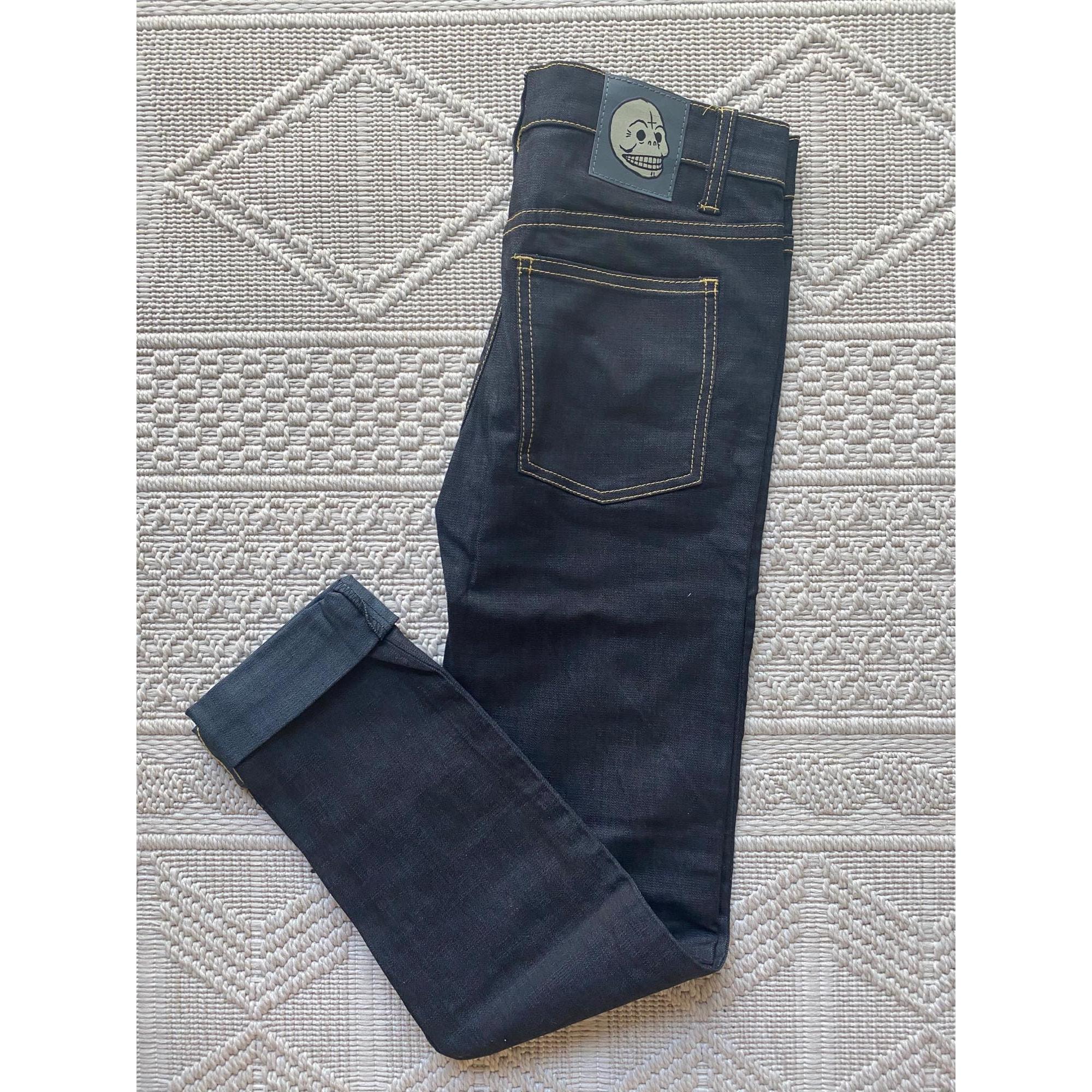 Jeans droit CHEAP MONDAY Bleu, bleu marine, bleu turquoise
