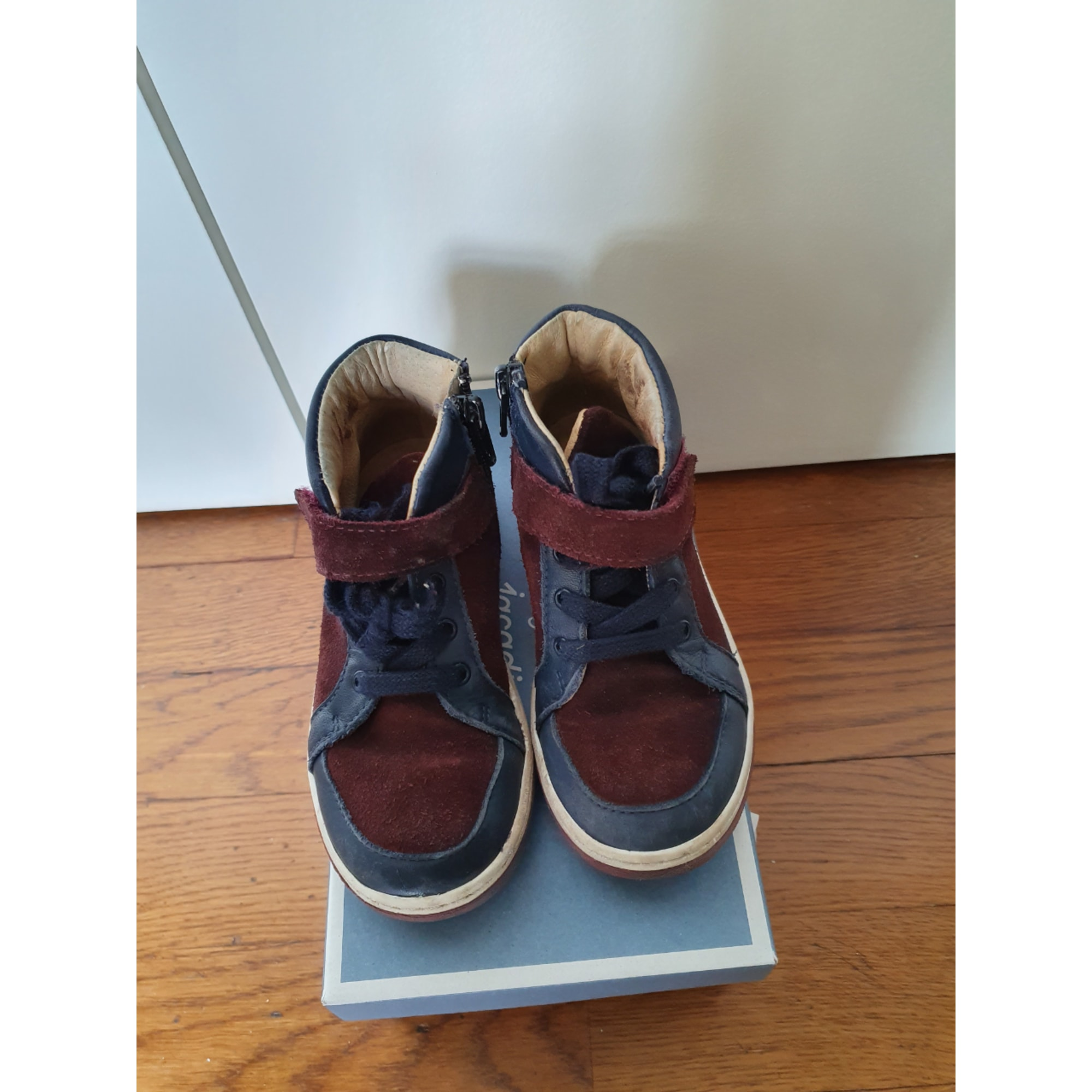 Chaussures à lacets JACADI Bleu, bleu marine, bleu turquoise