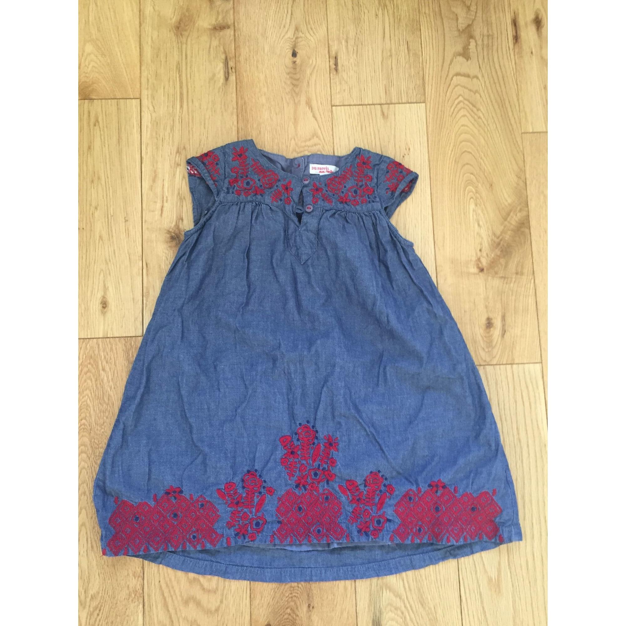 Robe DU PAREIL AU MÊME DPAM Bleu, bleu marine, bleu turquoise