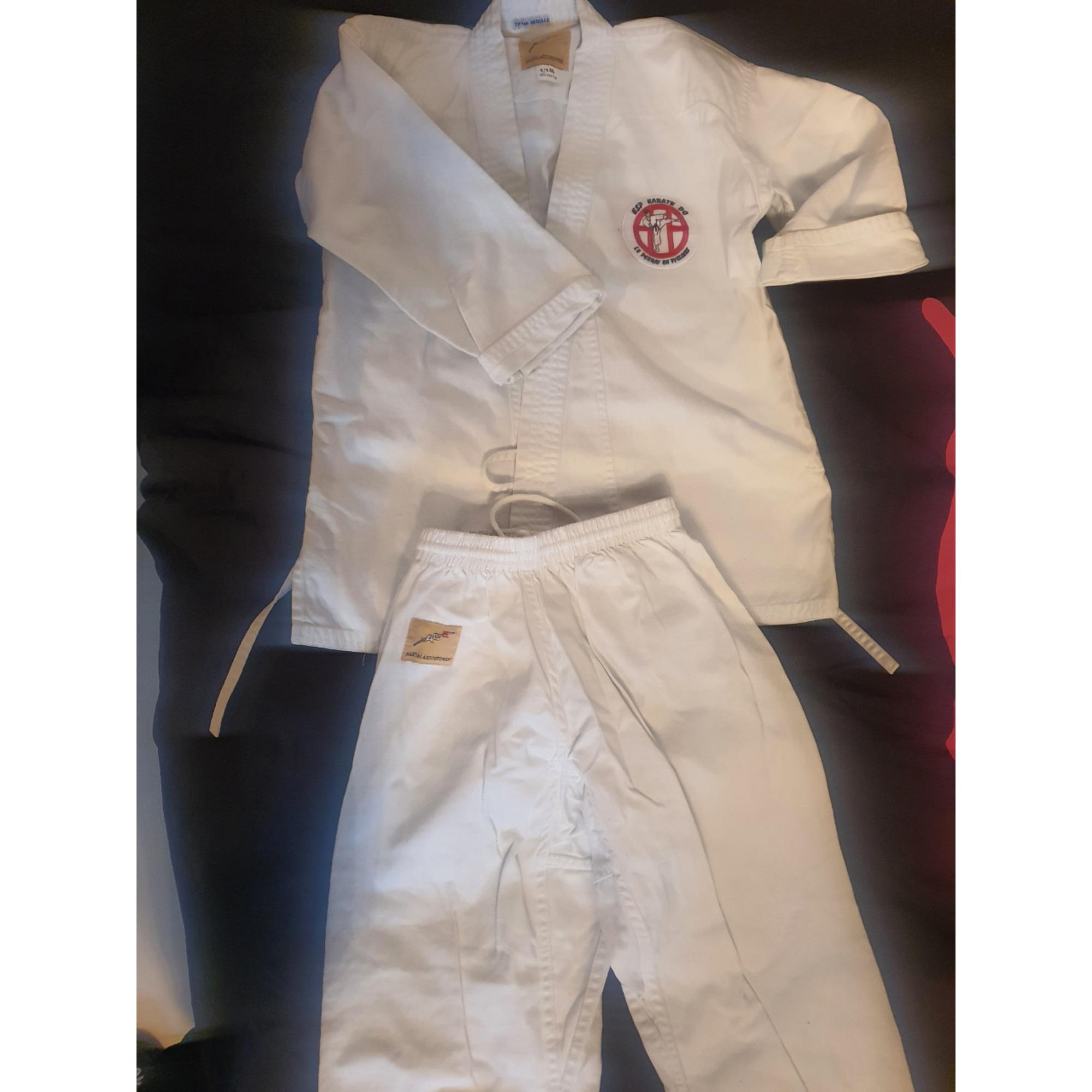Pantalon de survêtement MARQUE INCONNUE Blanc, blanc cassé, écru