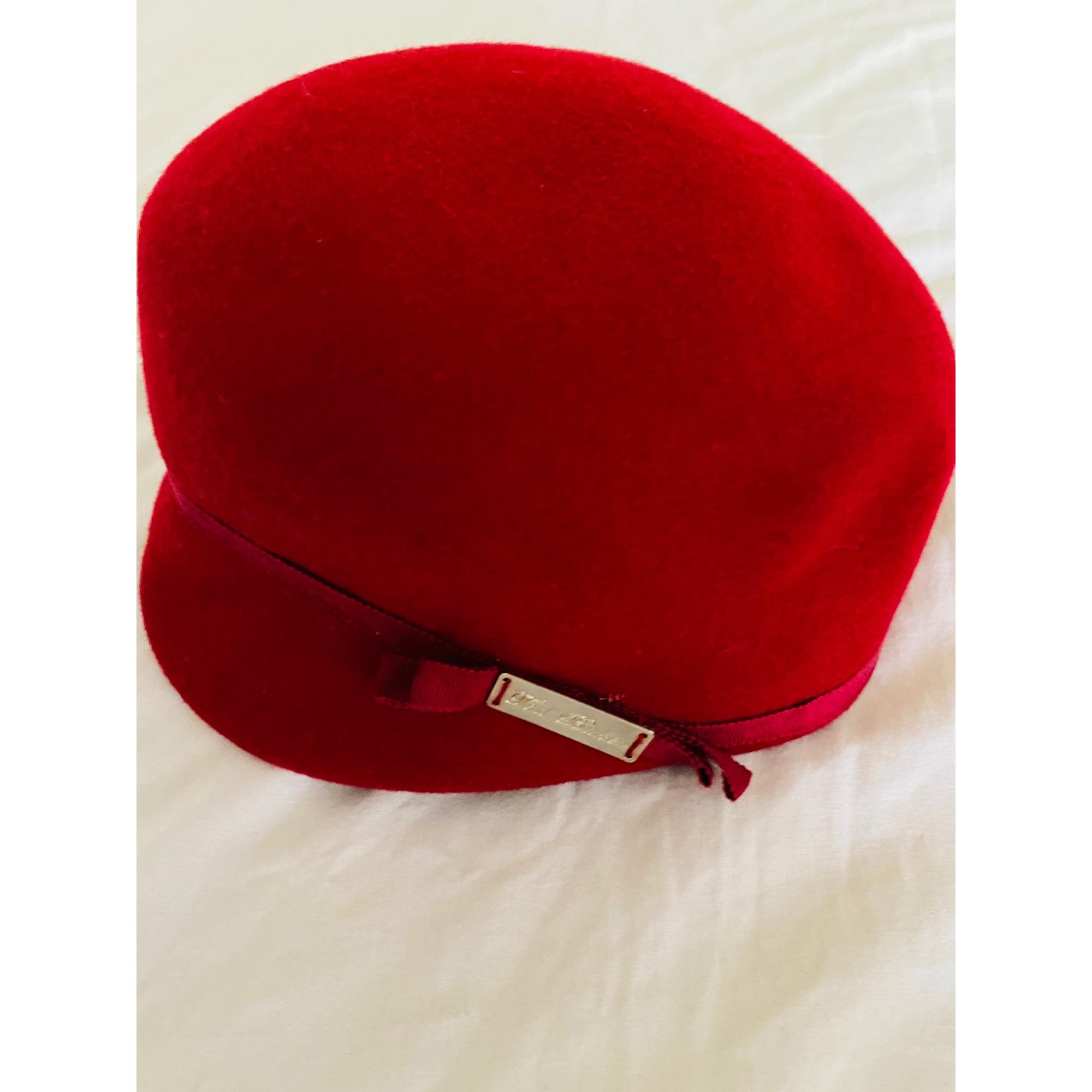 Chapeau TED BAKER Rouge, bordeaux