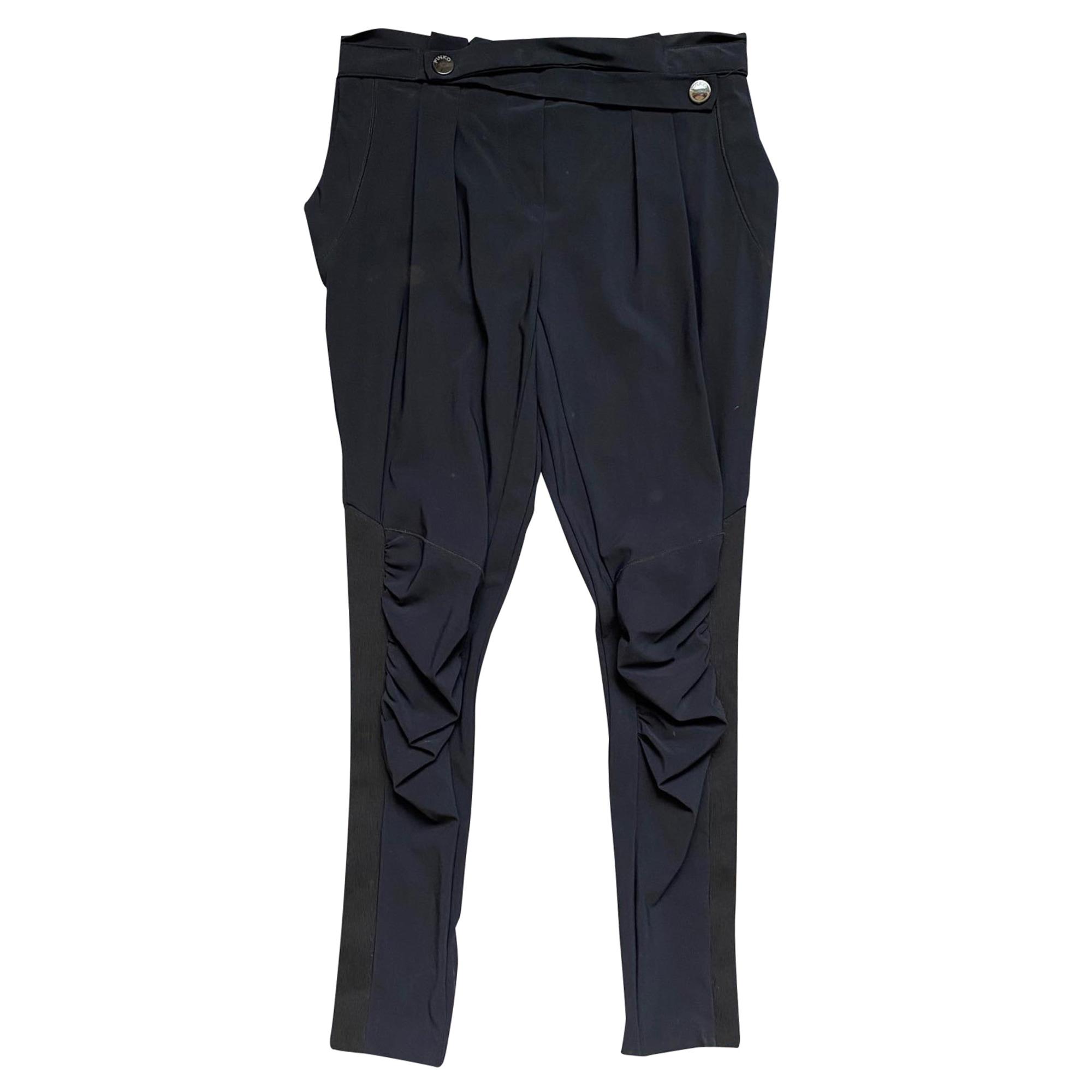 Pantalon carotte PINKO Noir