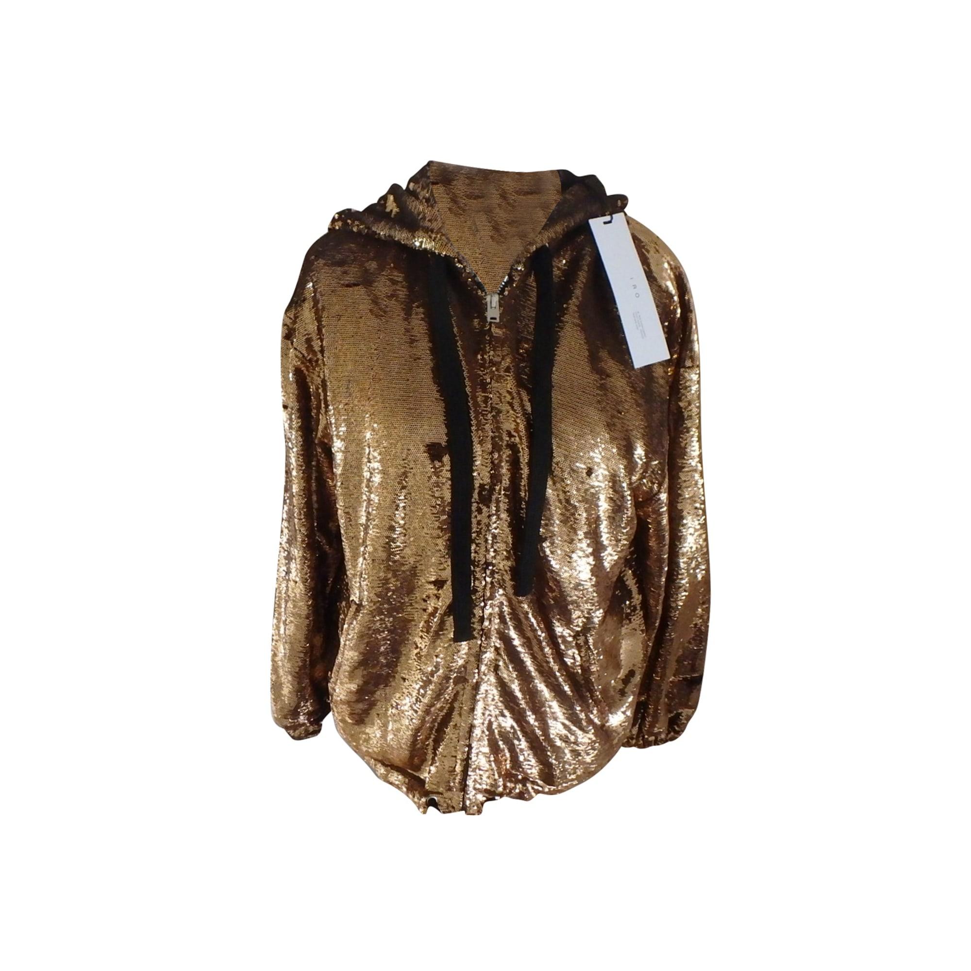 Jacket IRO Golden, bronze, copper