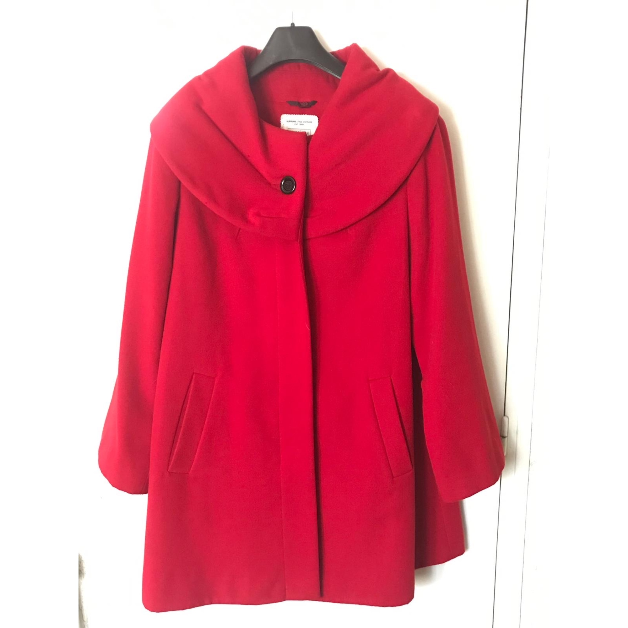 Manteau YESSICA Rouge, bordeaux