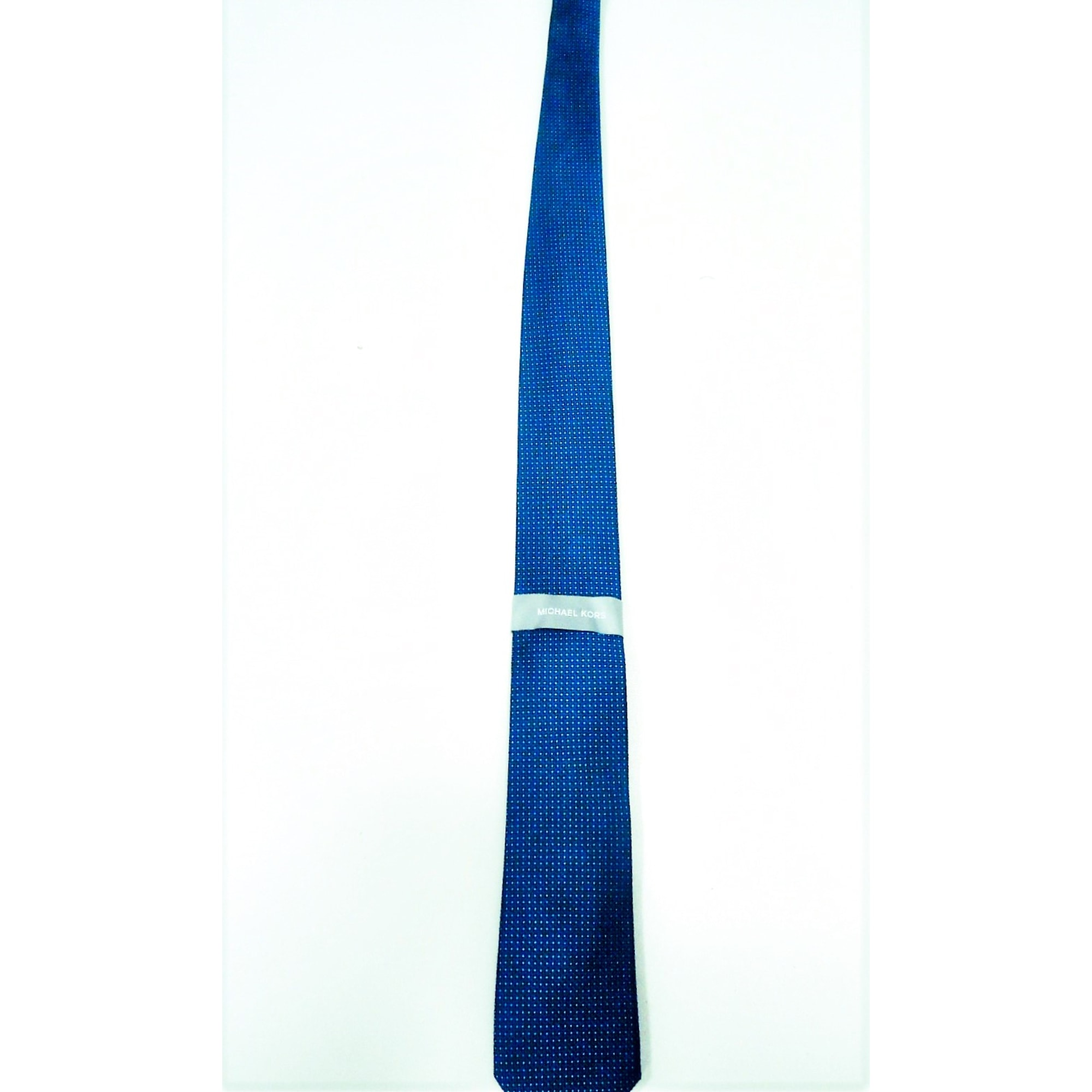 Cravate MICHAEL KORS Bleu, bleu marine, bleu turquoise