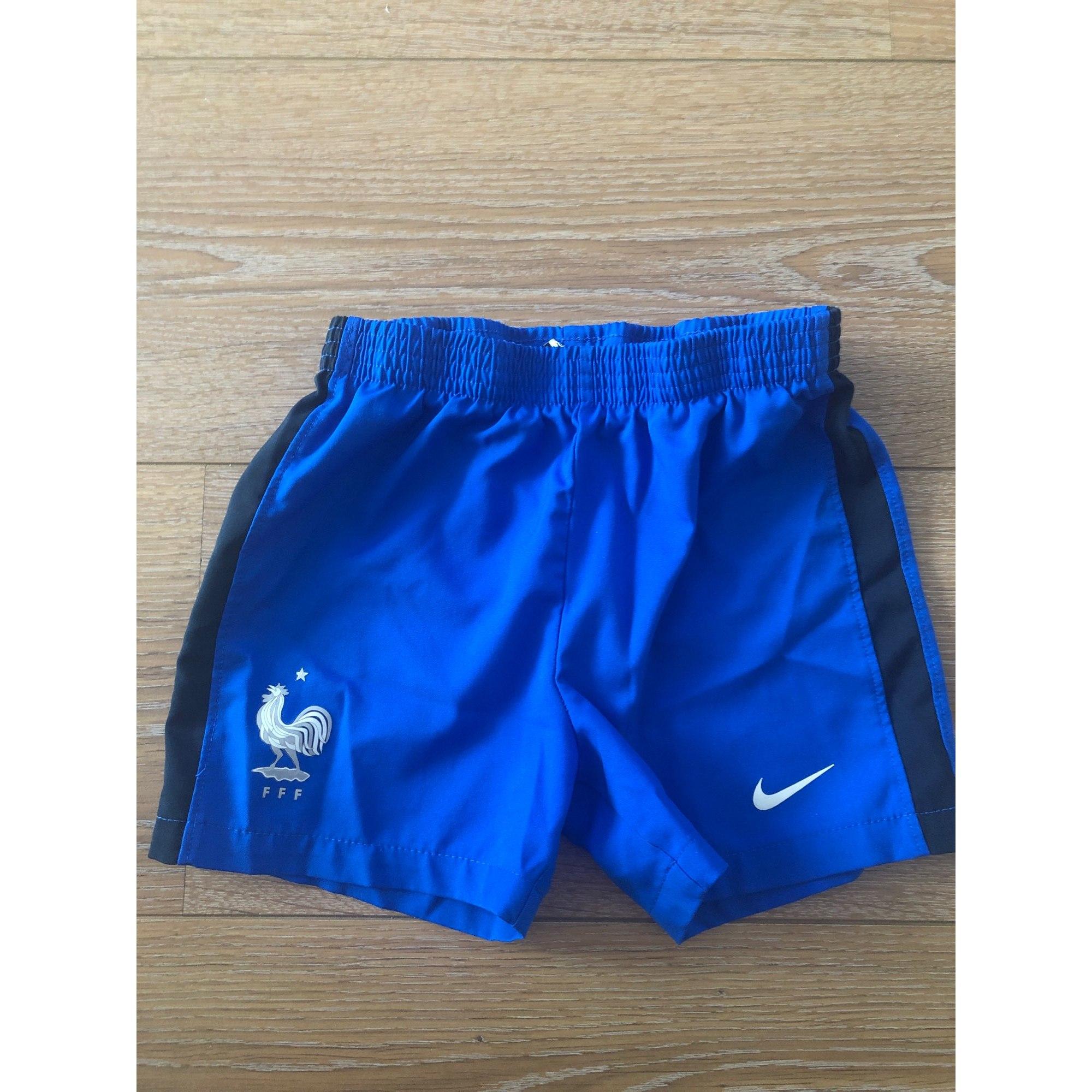 Short NIKE Bleu, bleu marine, bleu turquoise