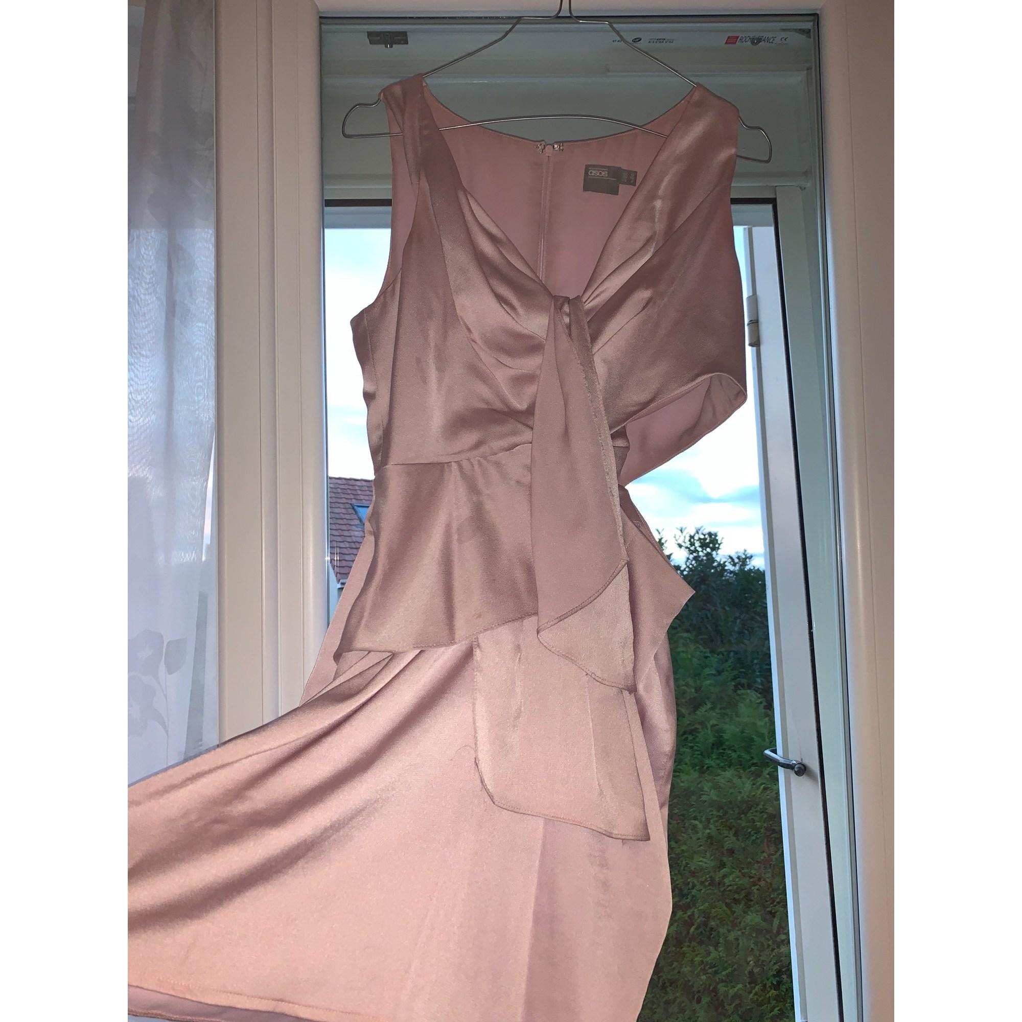 Robe courte ASOS Rose, fuschia, vieux rose