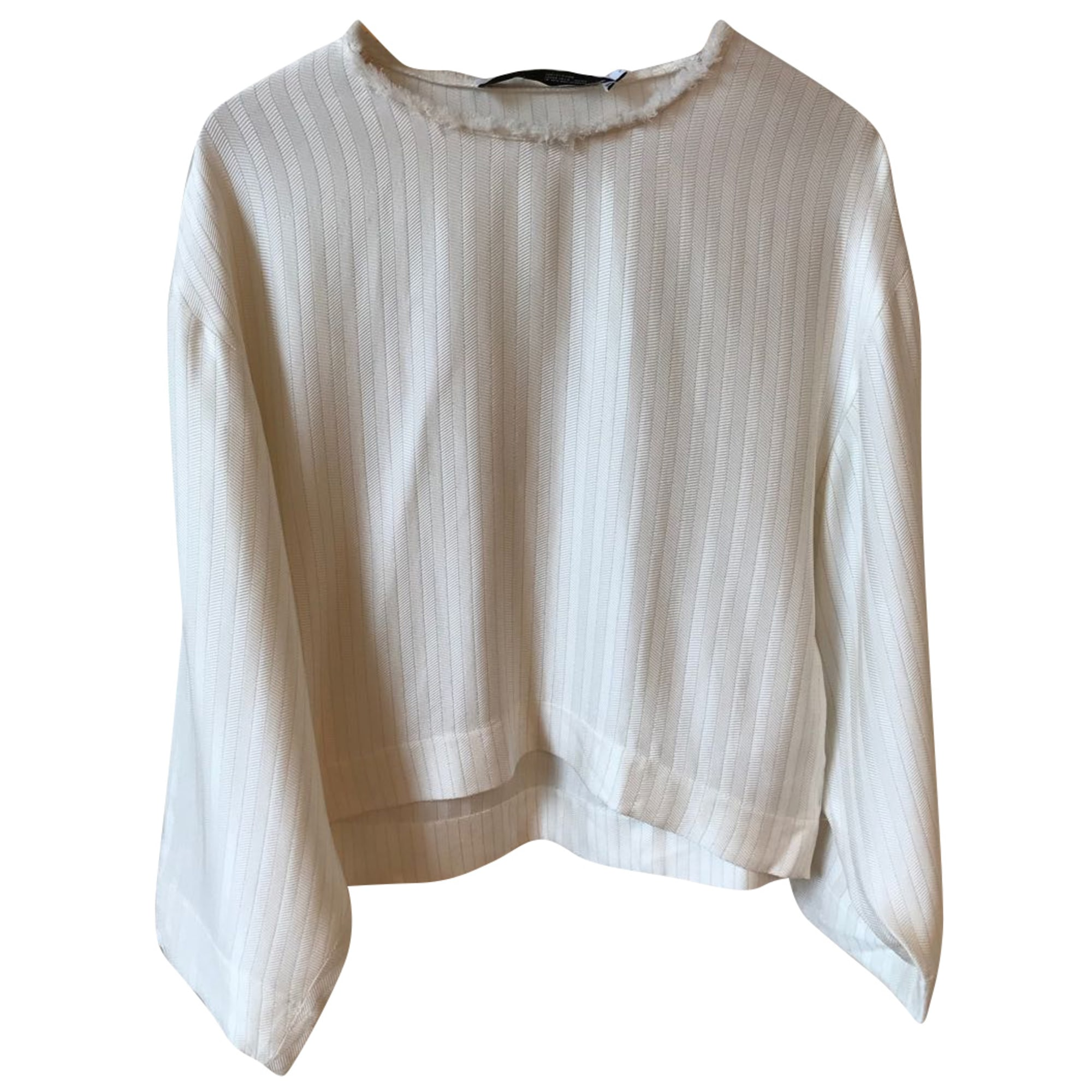 Top, T-shirt IRO White, off-white, ecru