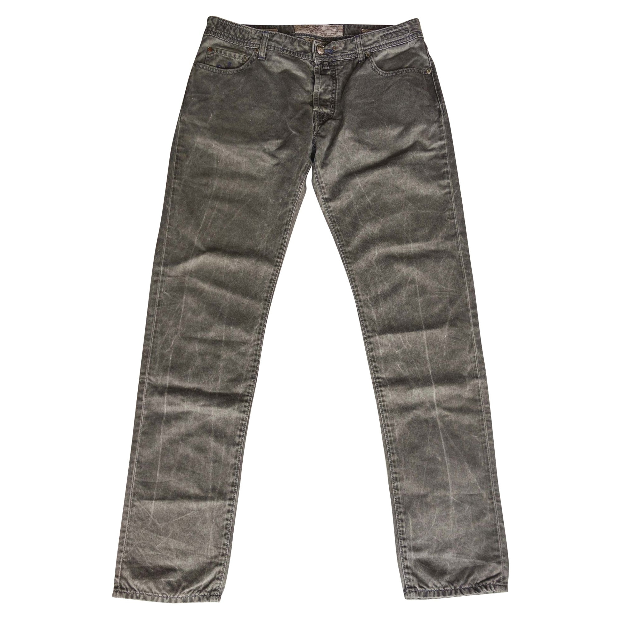 Jeans slim JACOB COHEN Gris, anthracite