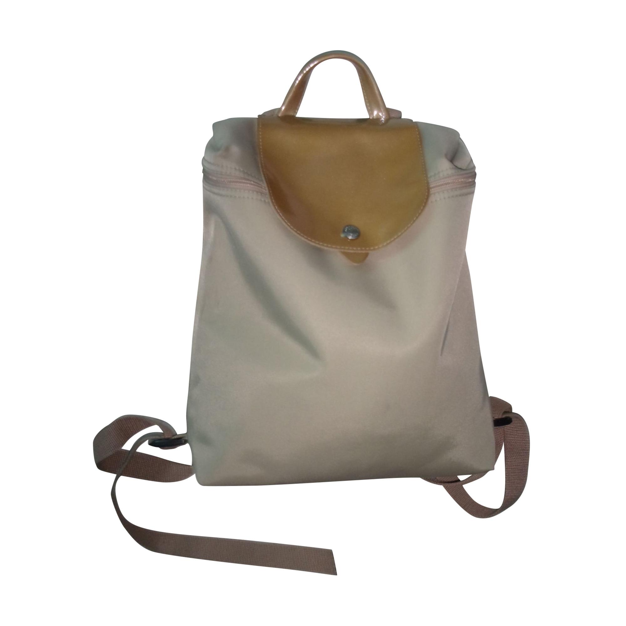 Backpack LONGCHAMP Beige, camel