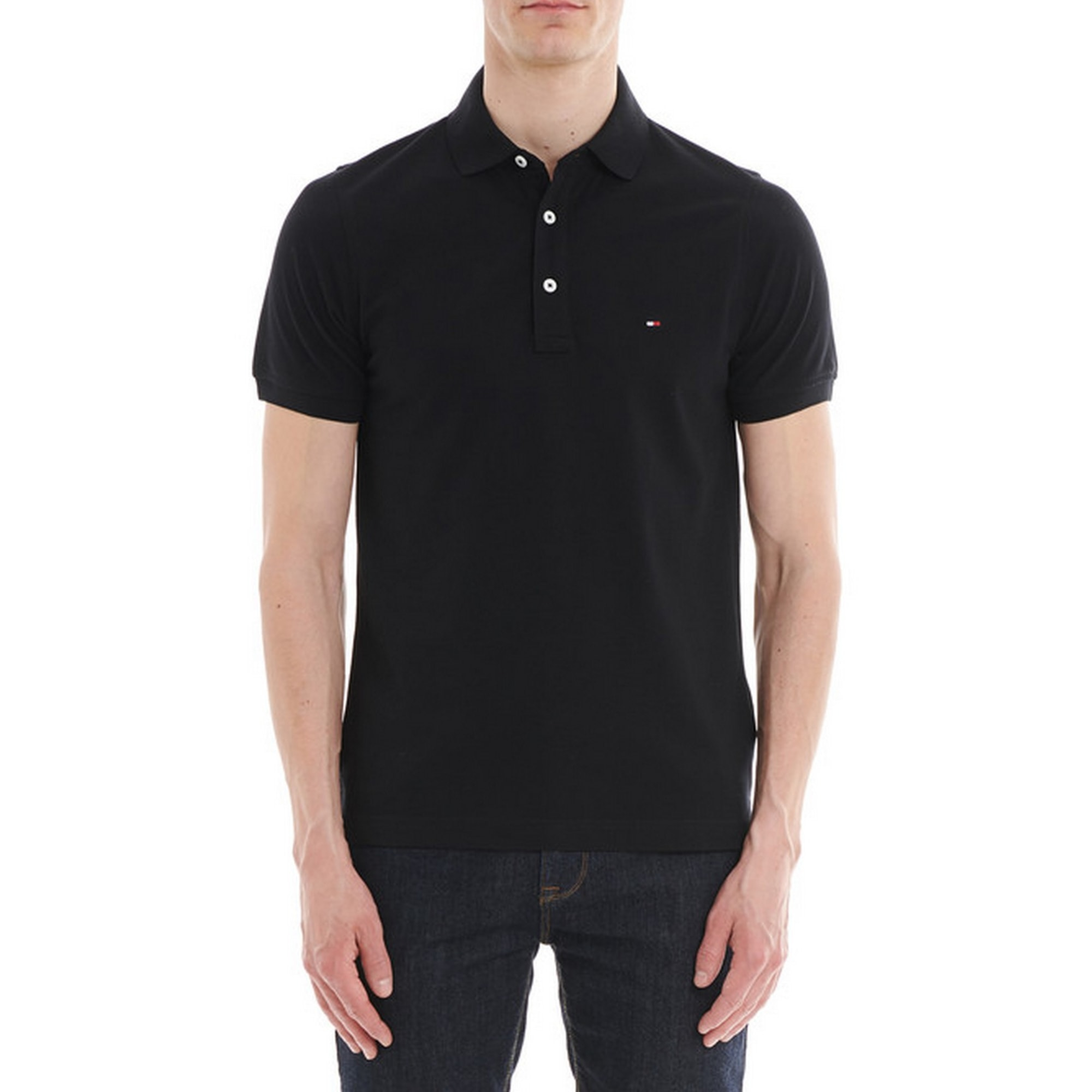 Polo TOMMY HILFIGER Noir