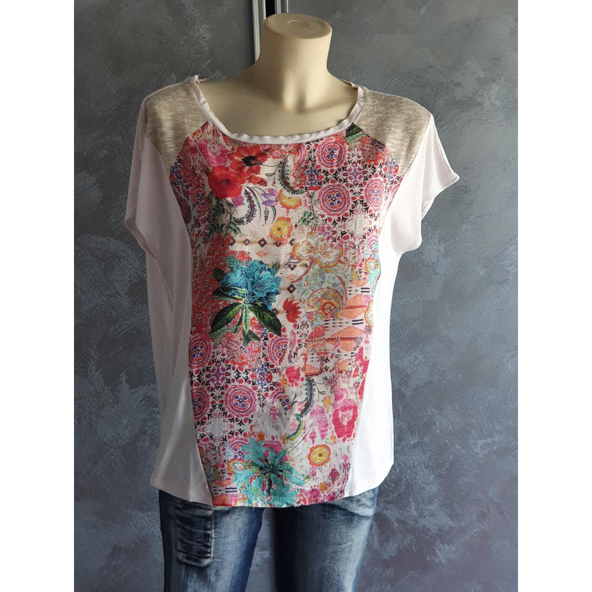 Top, tee-shirt JULIE GUERLANDE Multicouleur