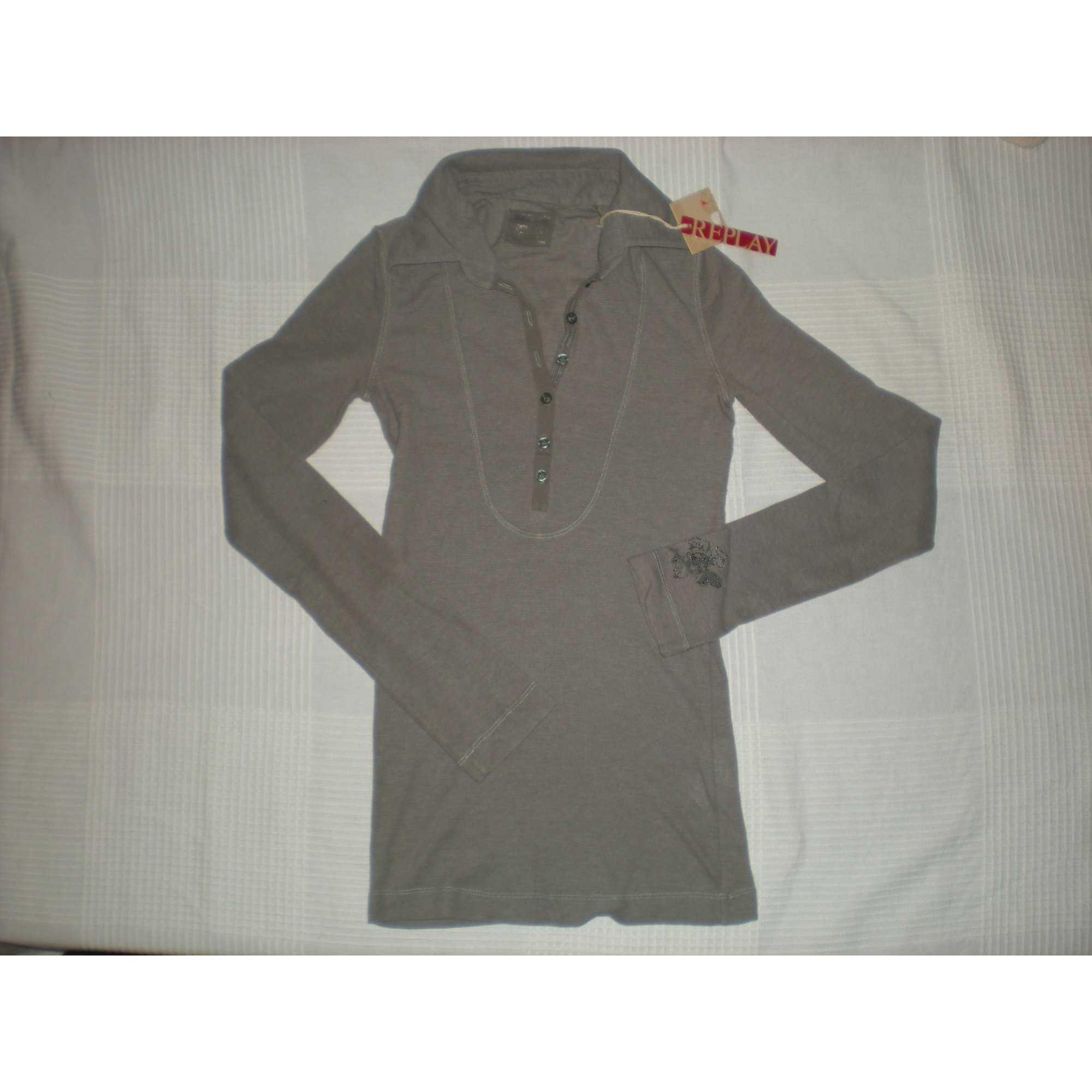 Polo REPLAY Gris, anthracite